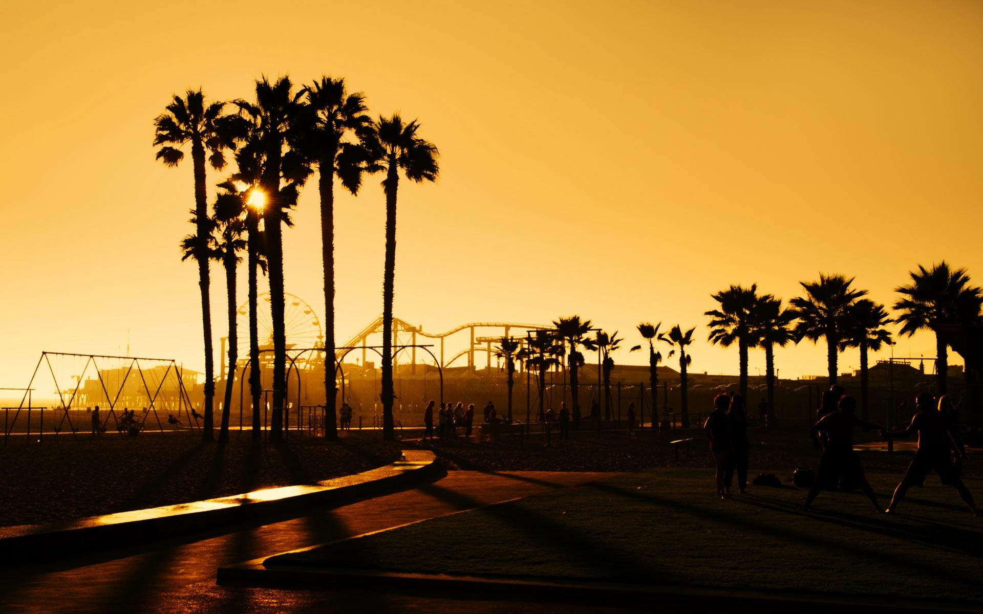 1920x1200px Santa Monica Pier Wallpapers