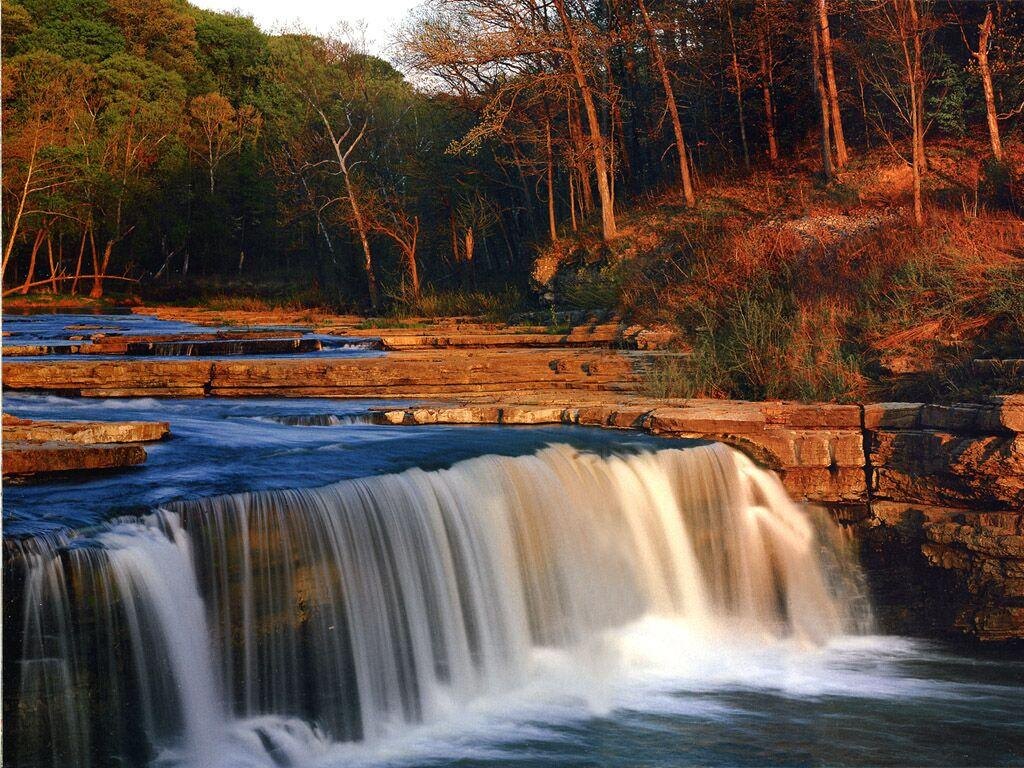 Indiana Cataract Falls State Park Mill Creek - Waterfalls Wallpaper
