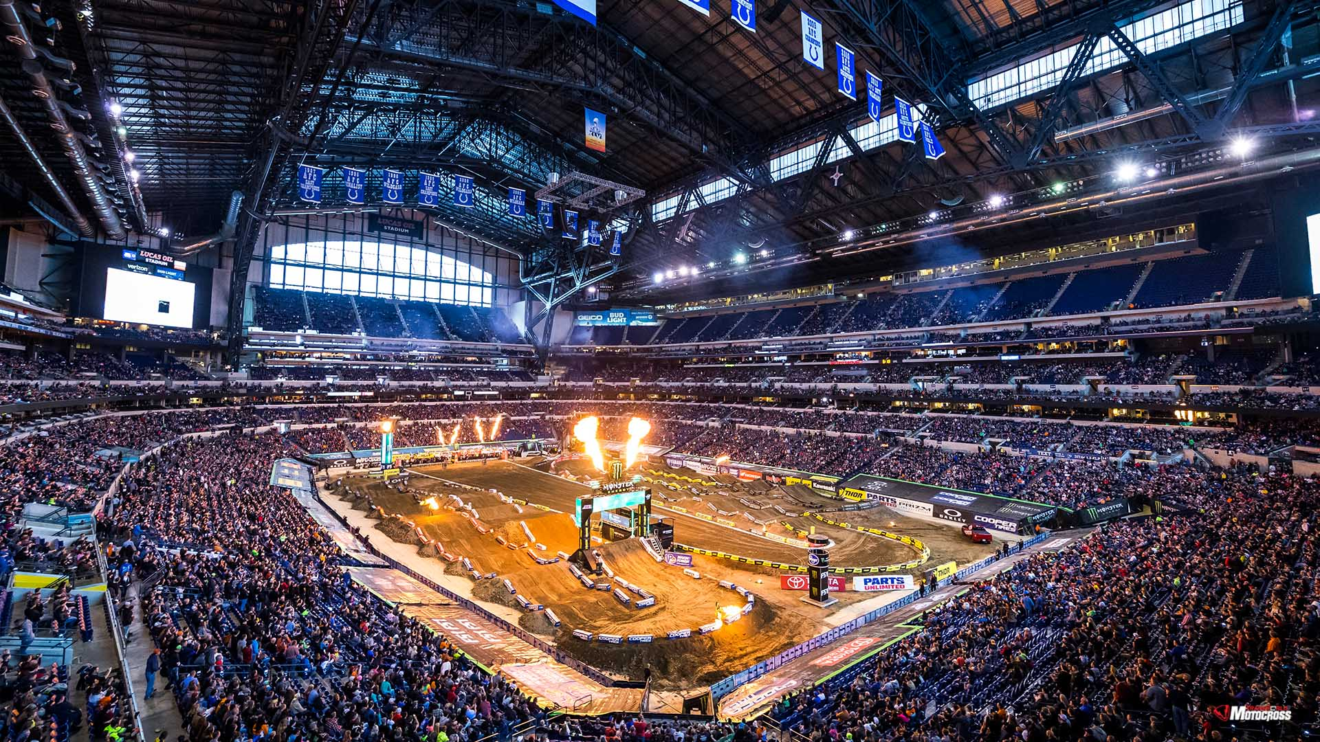 Wednesday Wallpapers From 2018 Indianapolis Supercross