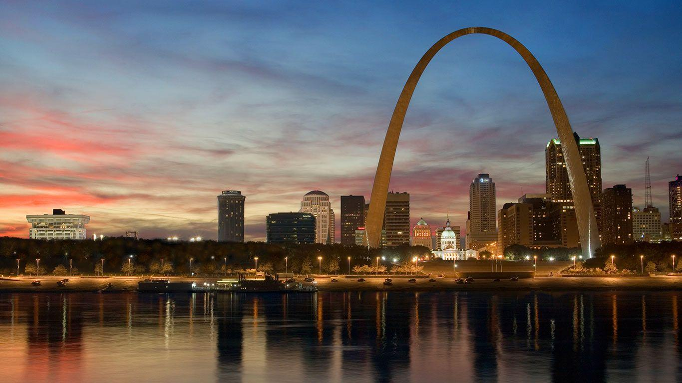 St. Louis Skyline Wallpapers - Top Free St. Louis Skyline ...