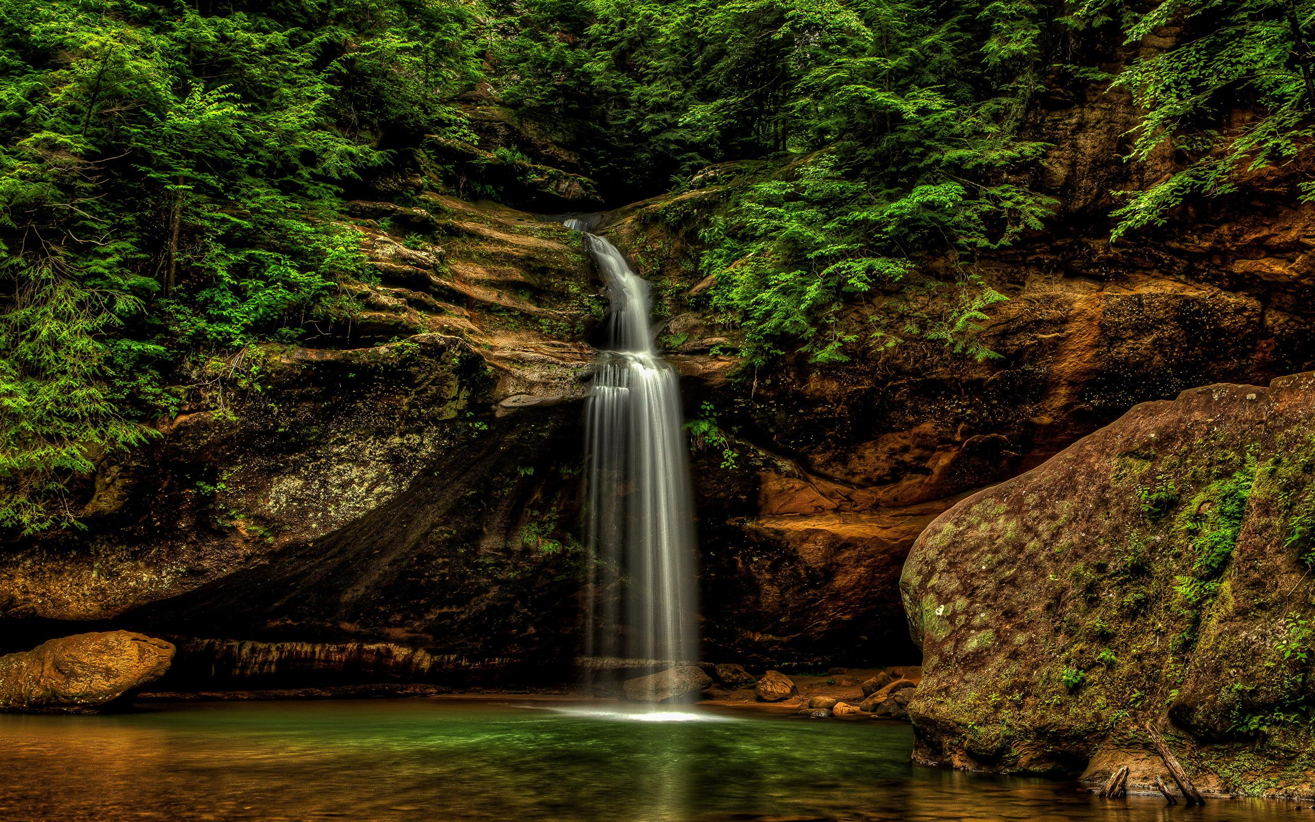 Wallpapers USA Hocking Hills State Park Logan Ohio Nature 2560x1600
