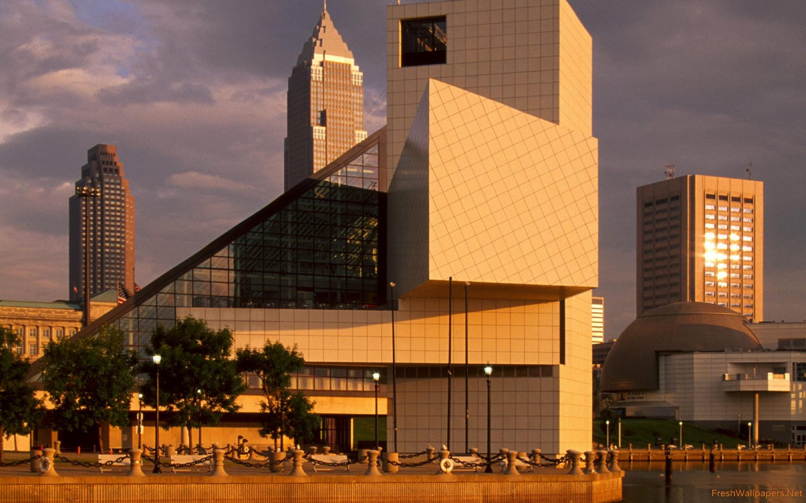 Rock and Roll Hall of Fame, Cleveland, Ohio wallpapers