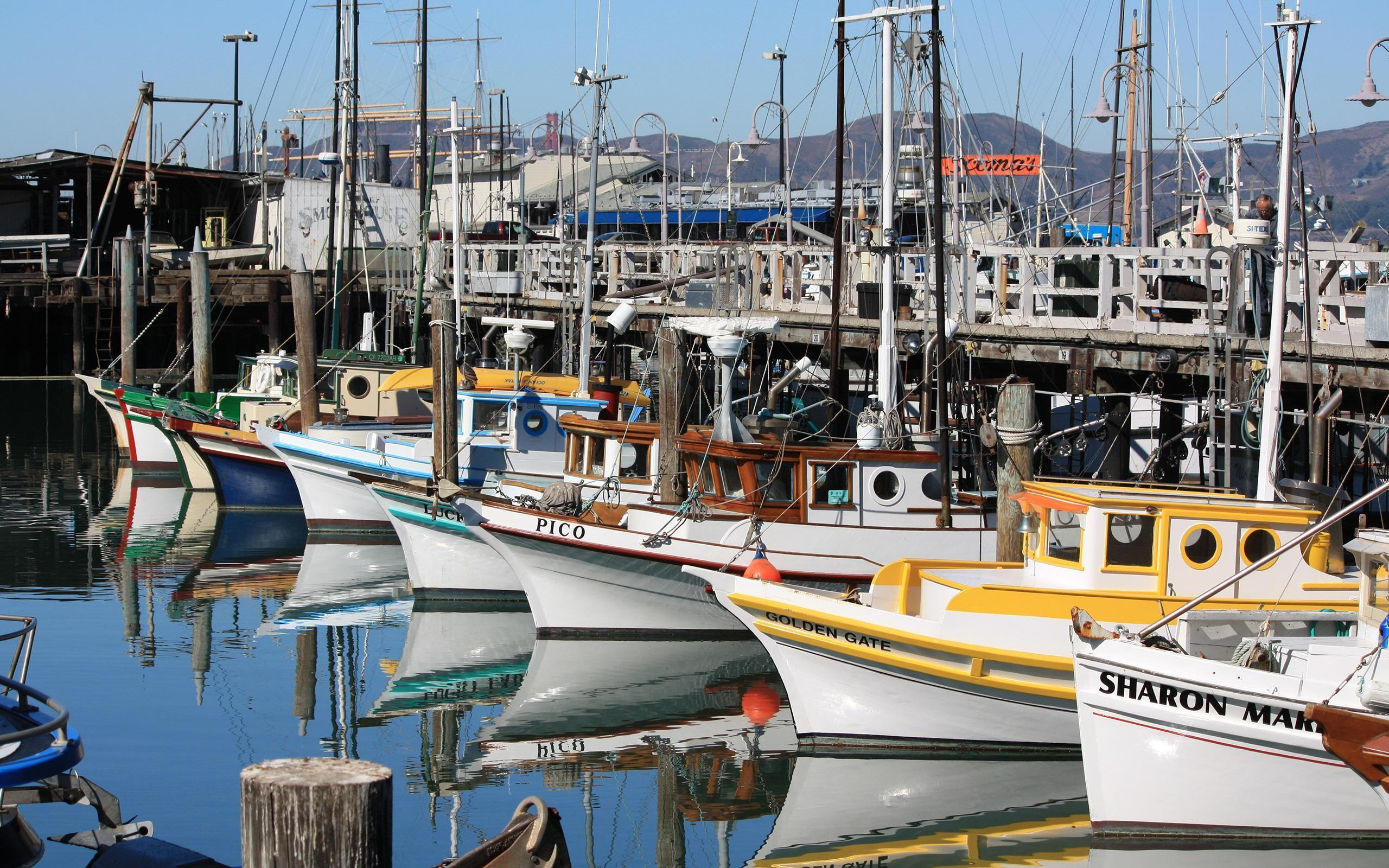 Fisherman's Wharf HD desktop wallpaper : Widescreen : High ...