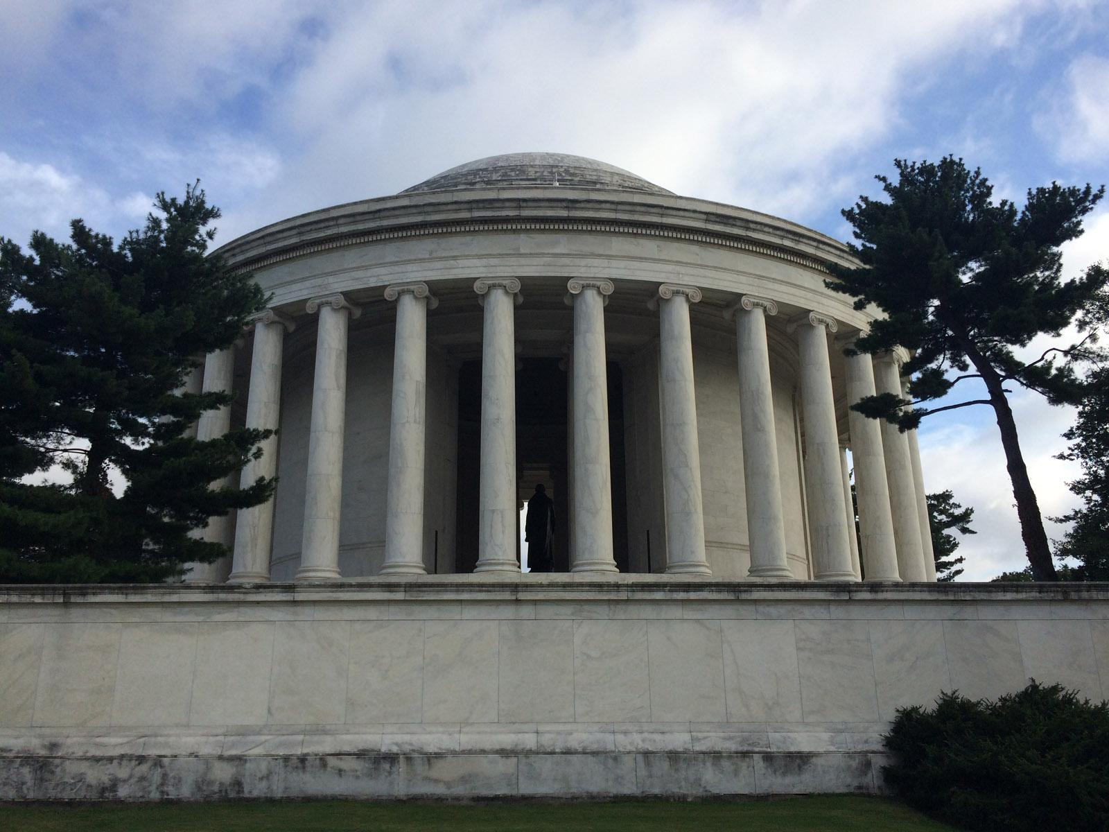 National Park Service battles with microbial growth on Jefferson