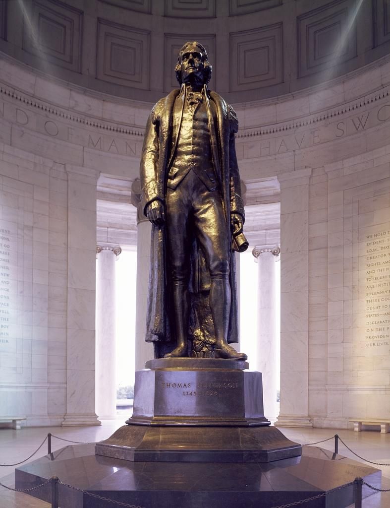 Pictures of Jefferson Memorial Statue