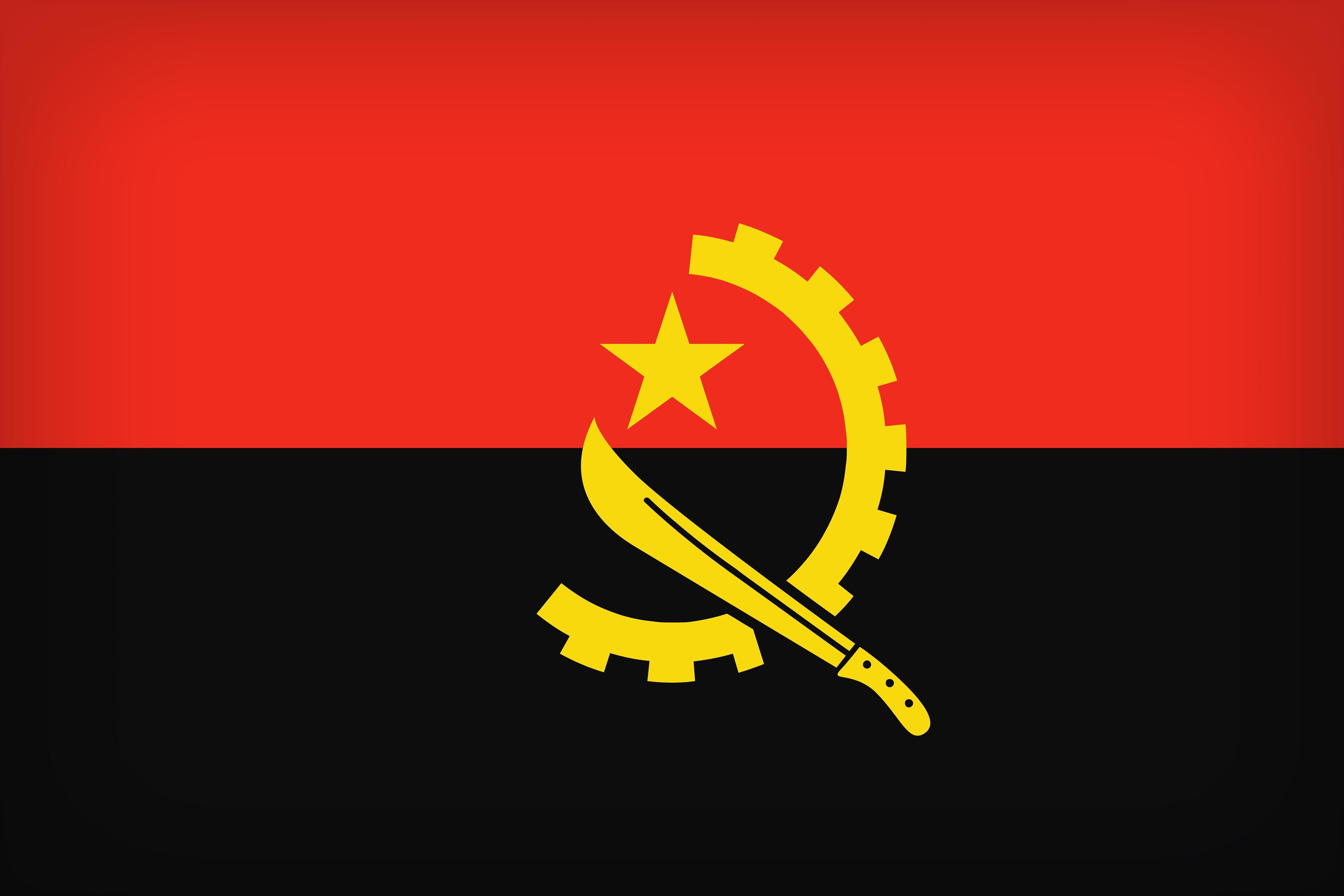 Flag Of Angola 4k Ultra HD Wallpapers