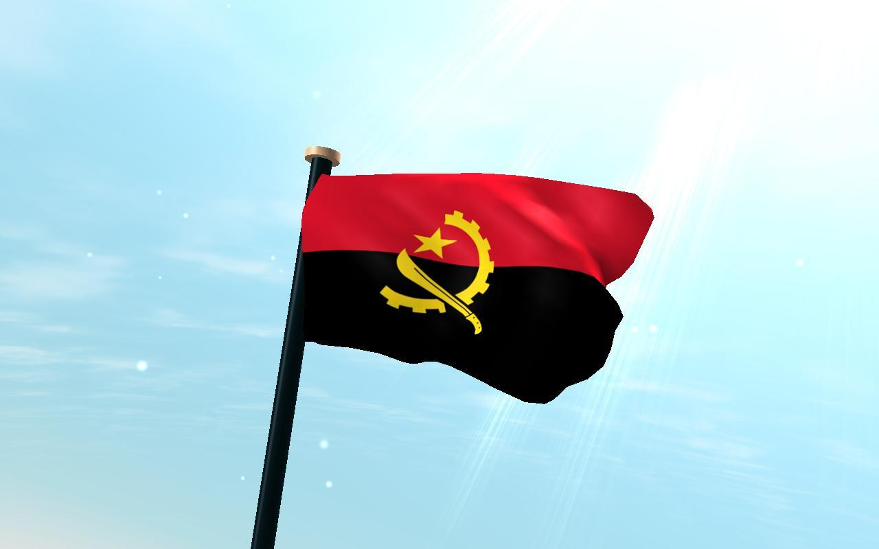 Angola Flag 3D Free Wallpapers for Android