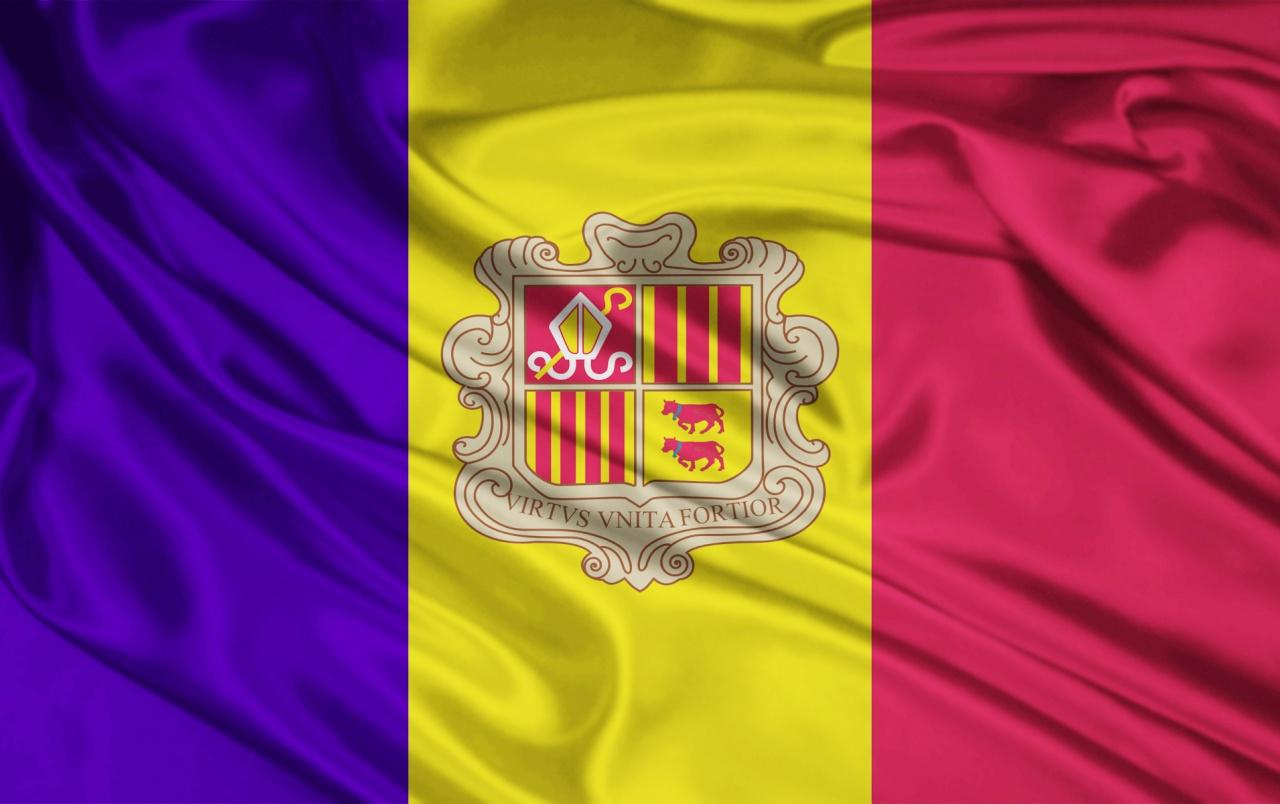 Andorra Flag wallpapers | Andorra Flag stock photos