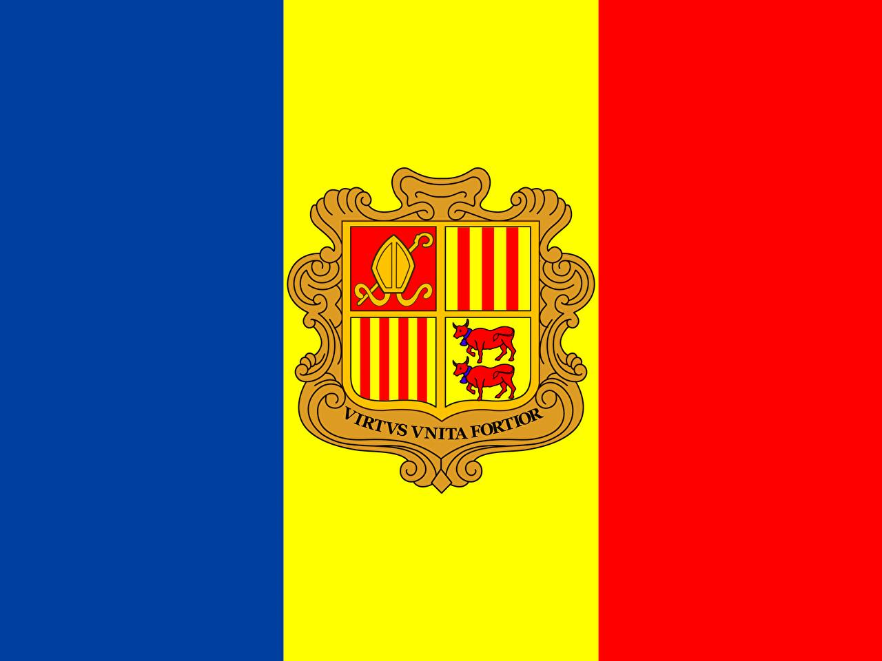 Picture Andorra Flag 1280x960