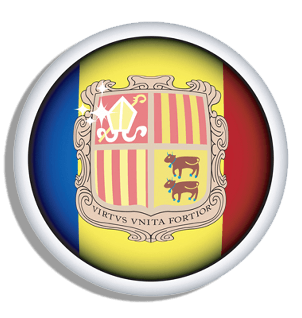 Graafix!: Flag of Andorra Flag graphics