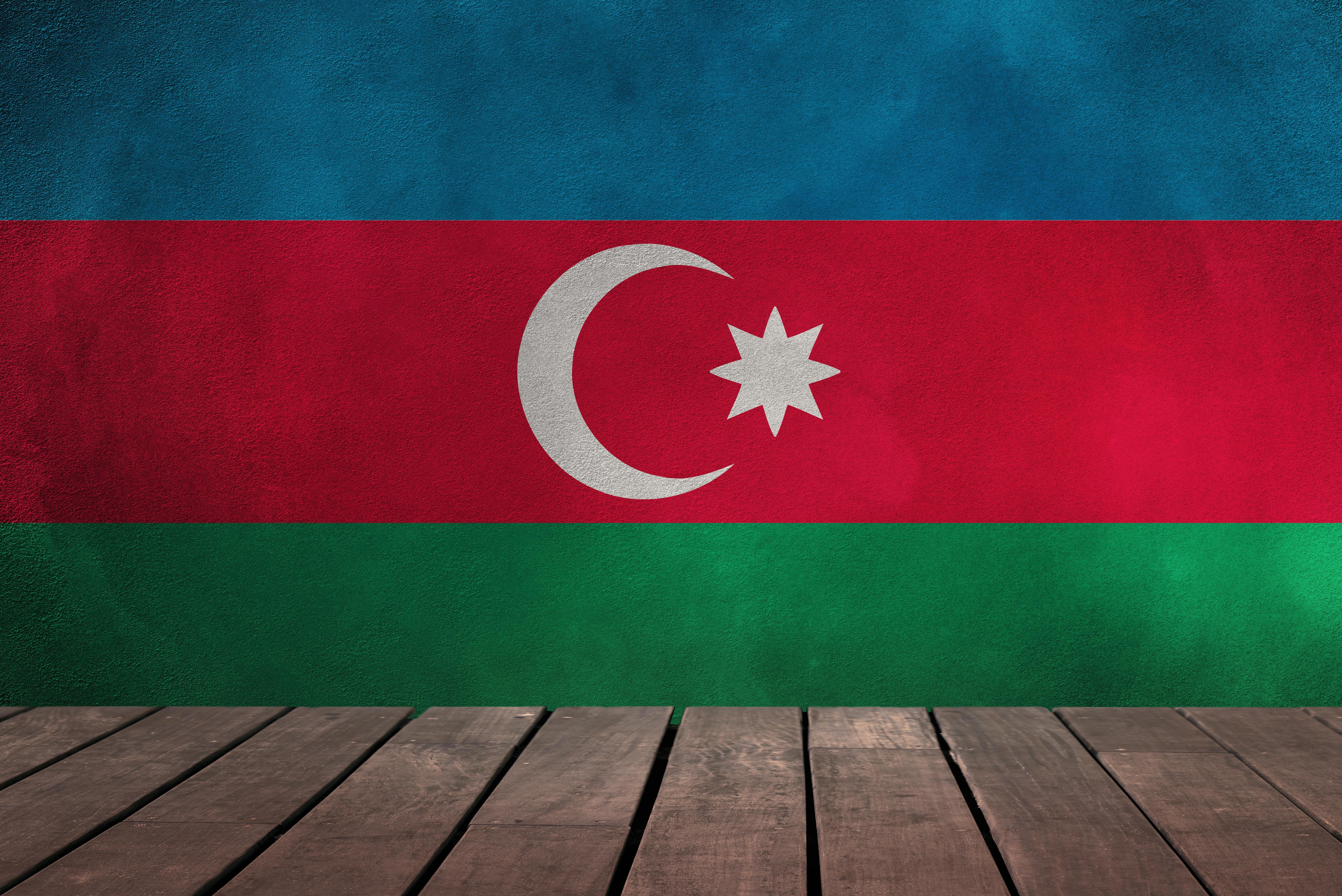 flag of Azerbaijan 5k Retina Ultra HD Wallpaper | Background Image ...