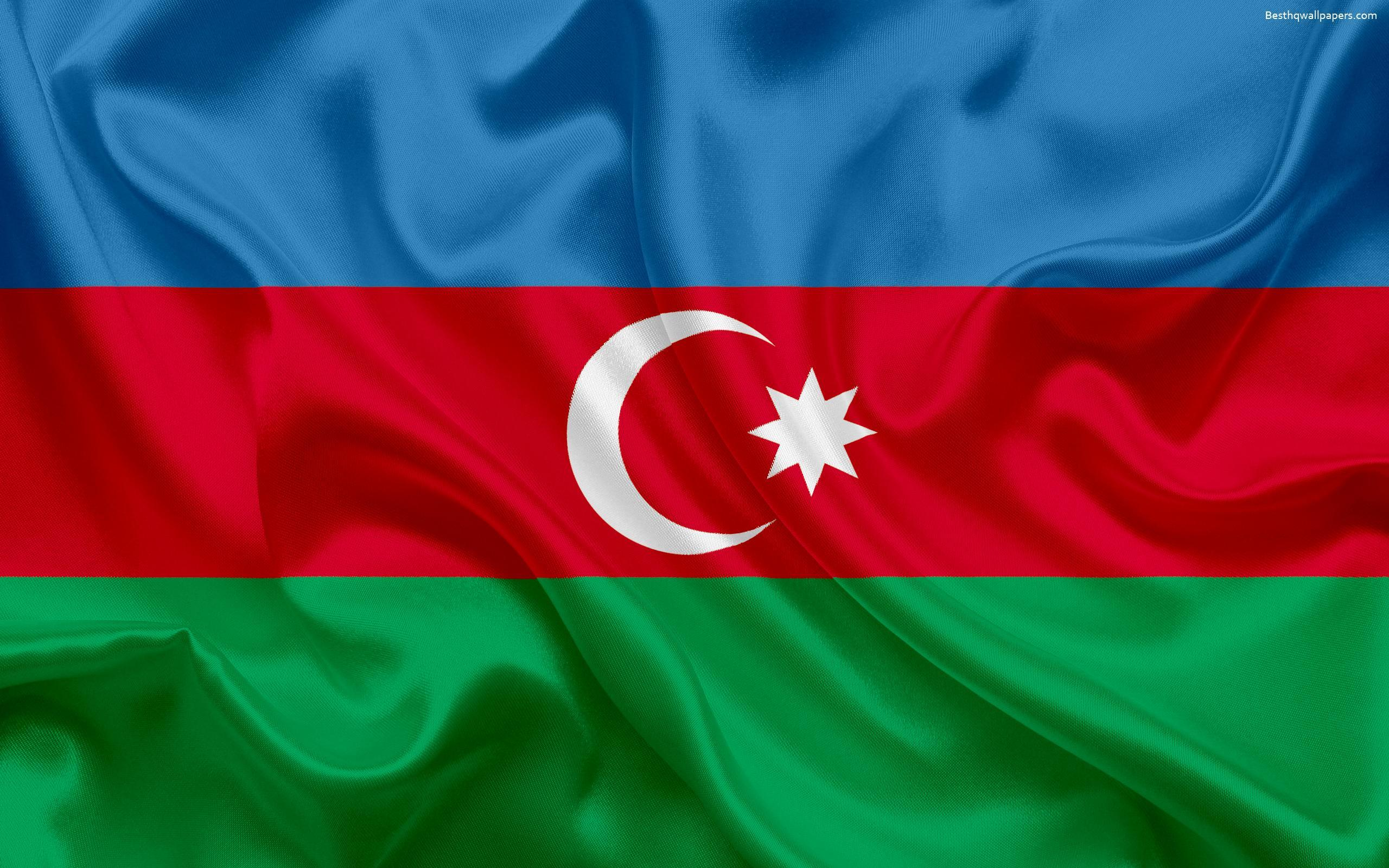Download wallpapers Azerbaijan flag, Asia, Azerbaijan, symbols ...