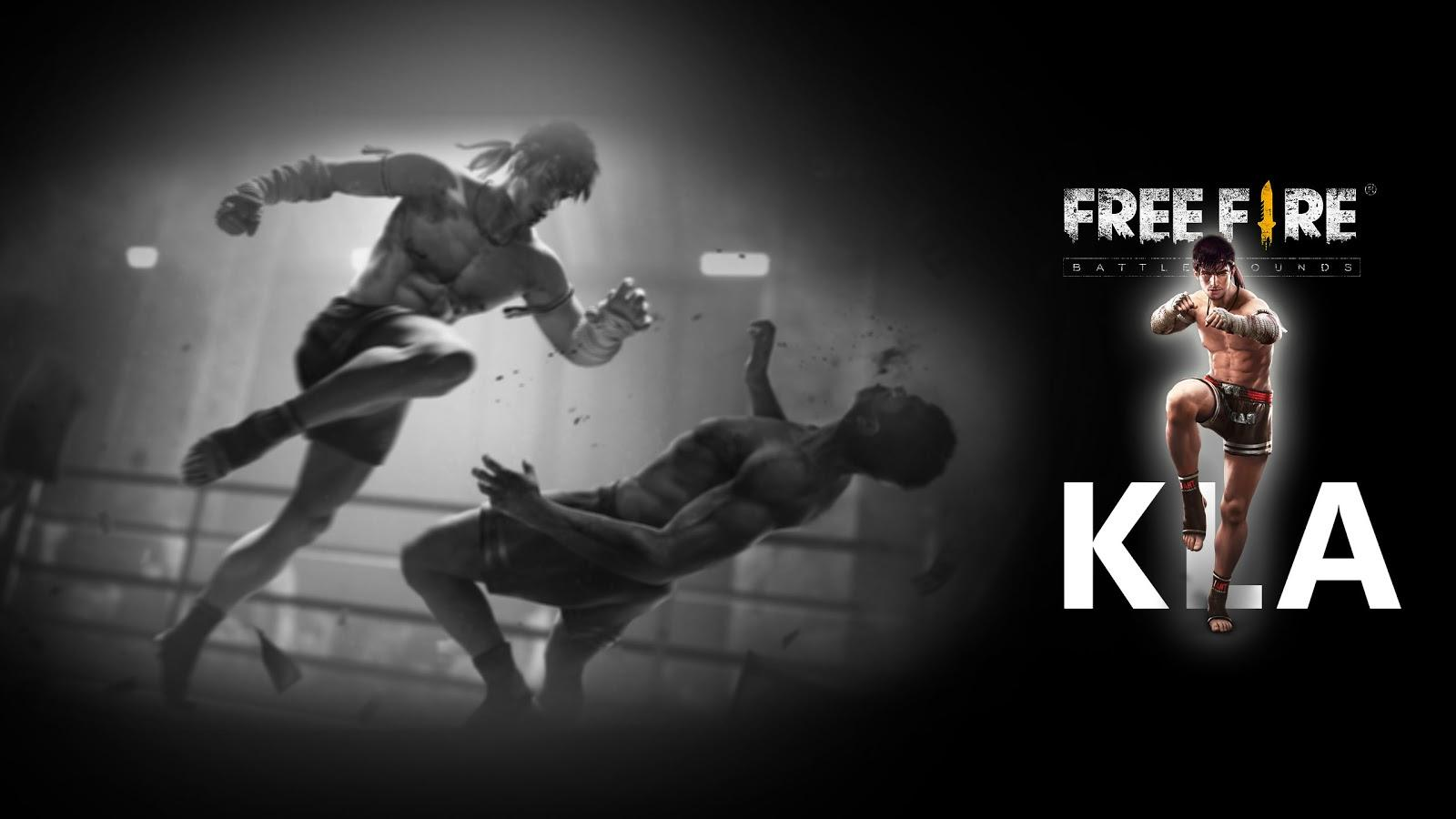 Kla Character Free Fire Muay Thai Fighter