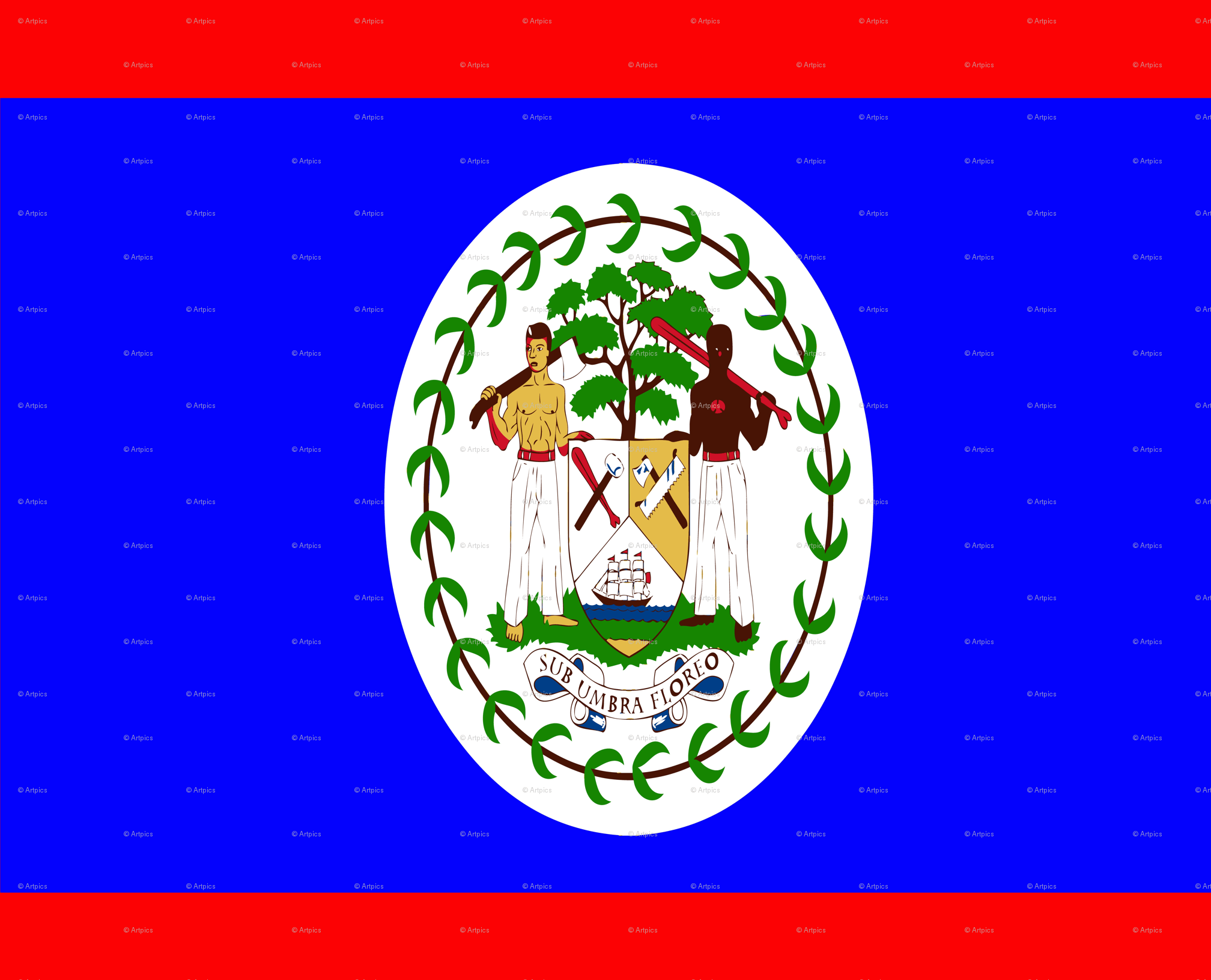 Flag of Belize wallpapers