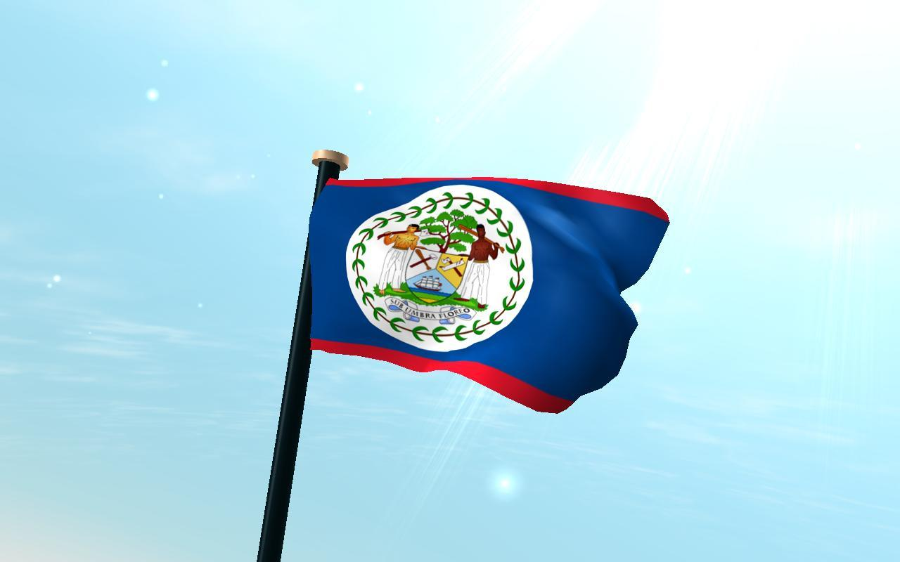 Belize Flag 3D Free Wallpapers for Android