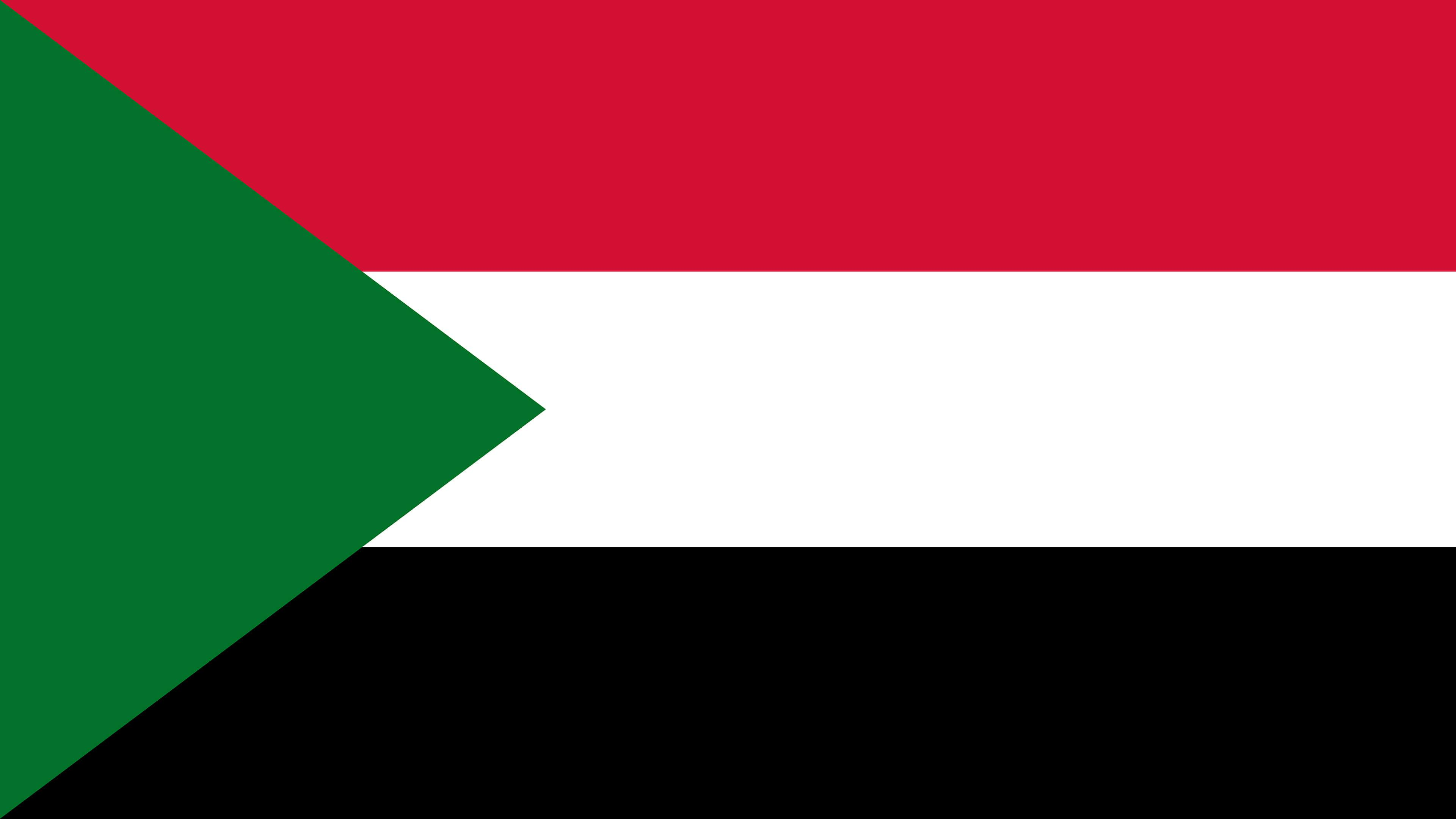 Sudan Flag UHD 4K Wallpaper | Pixelz