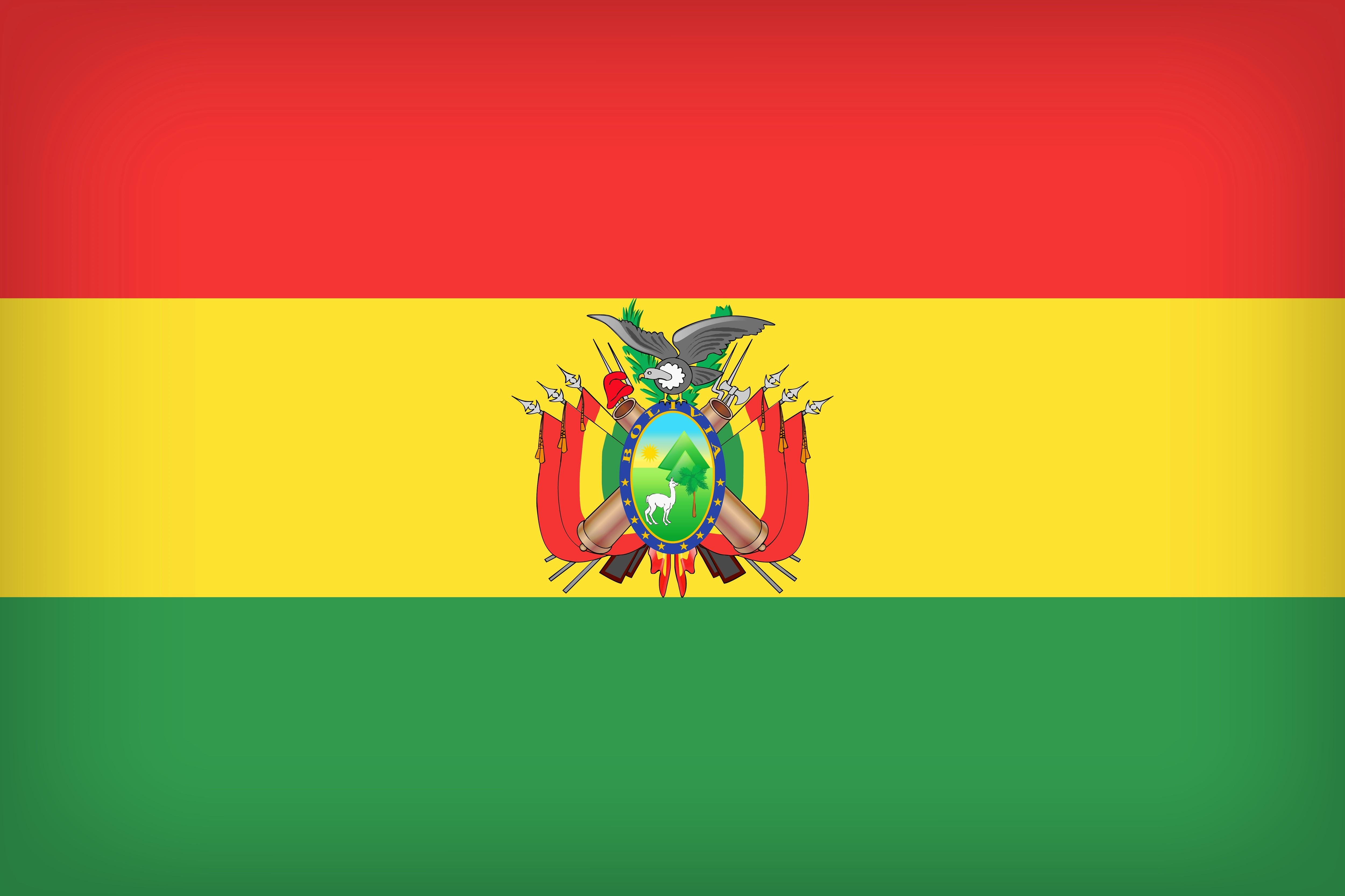 The National Flag of Bolivia 4k Ultra HD Wallpaper | Background ...
