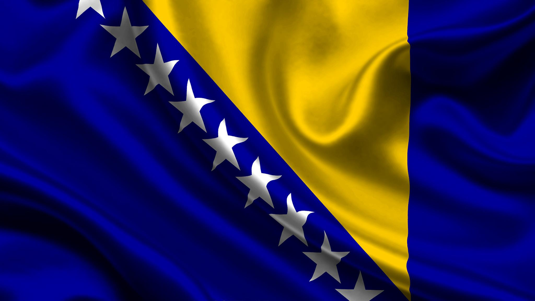 Picture Bosnia-and-Herzegovina Flag 2048x1152
