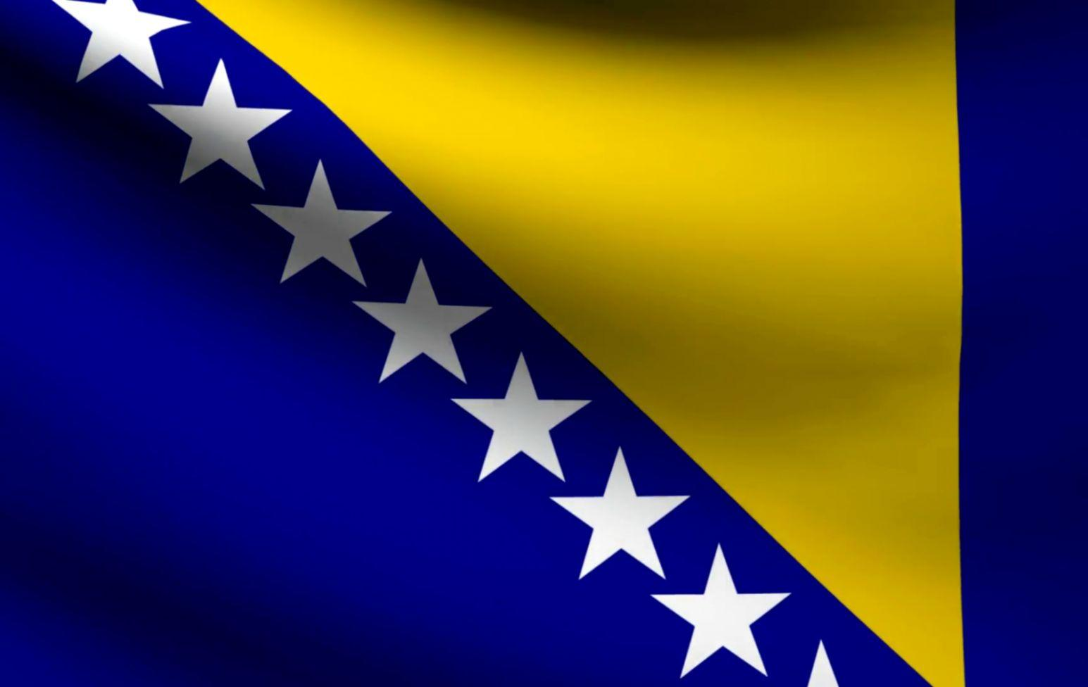 Bosnia And Herzegovina Countries Flag Artwork Wallpaper | wimwauman