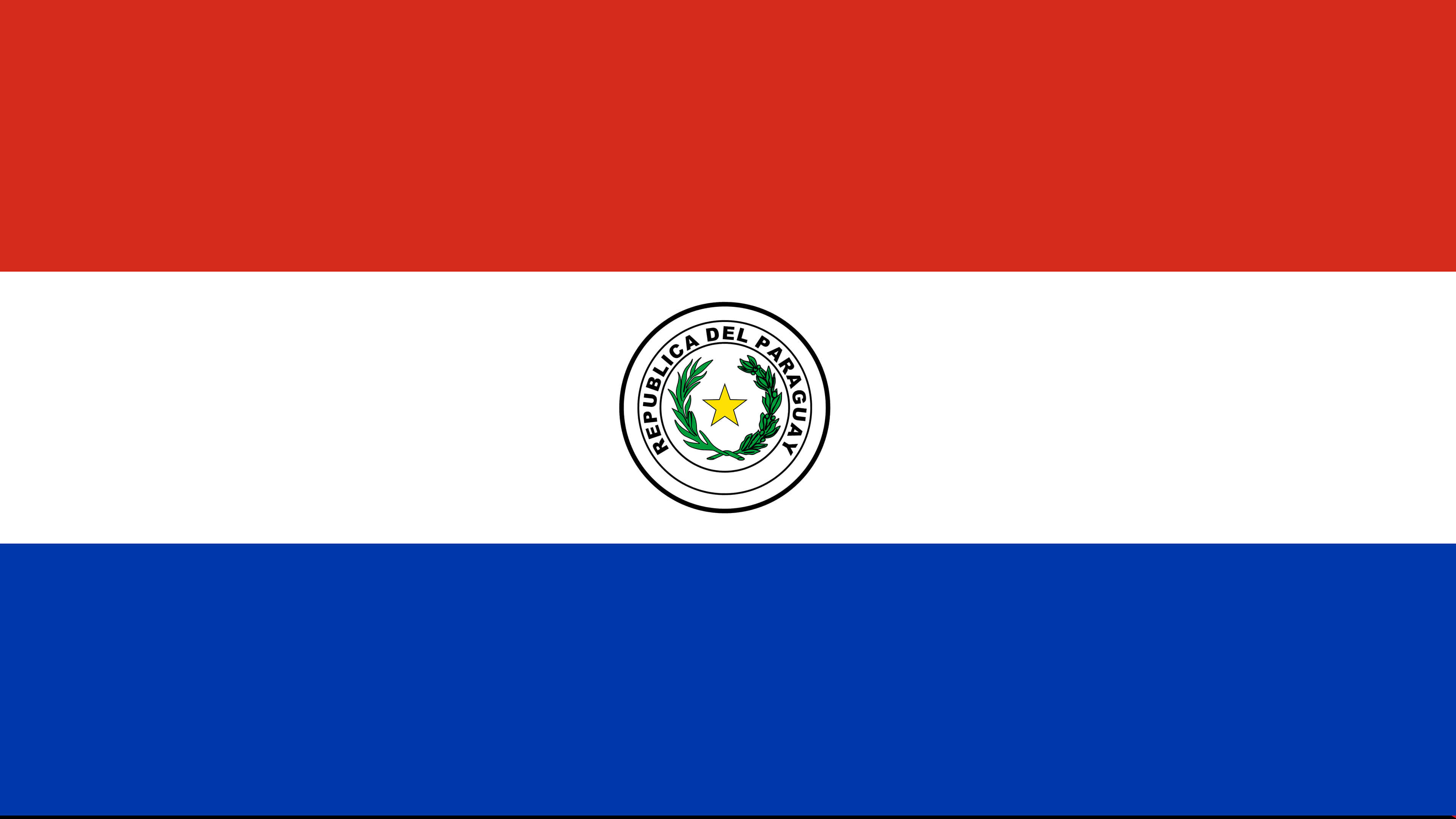 Paraguay Flag UHD 4K Wallpapers