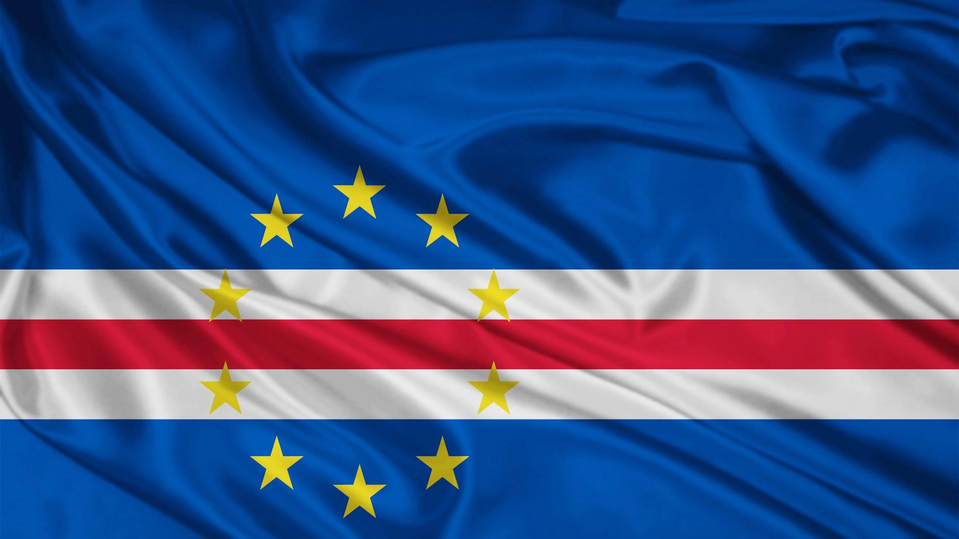 1920x1080 Cape Verde Flag desktop PC and Mac wallpaper