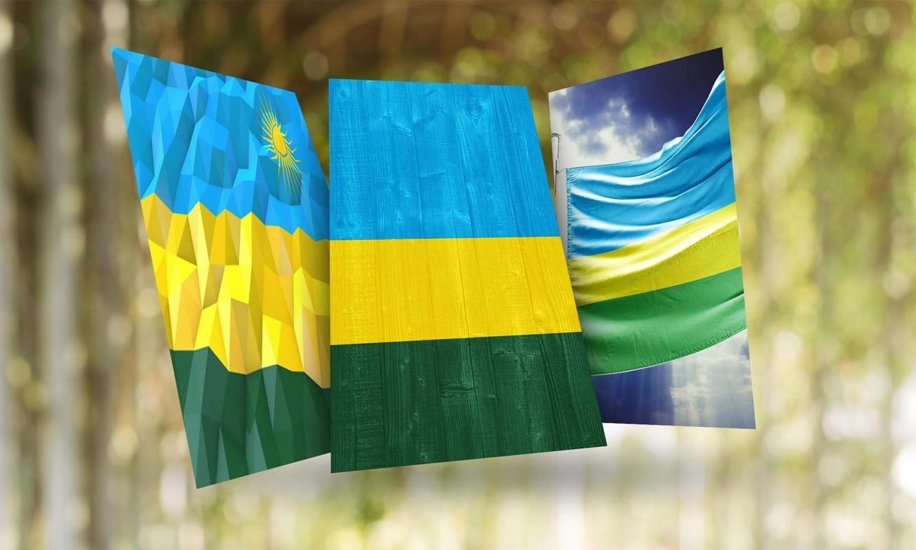Rwanda Flag Wallpapers for Android