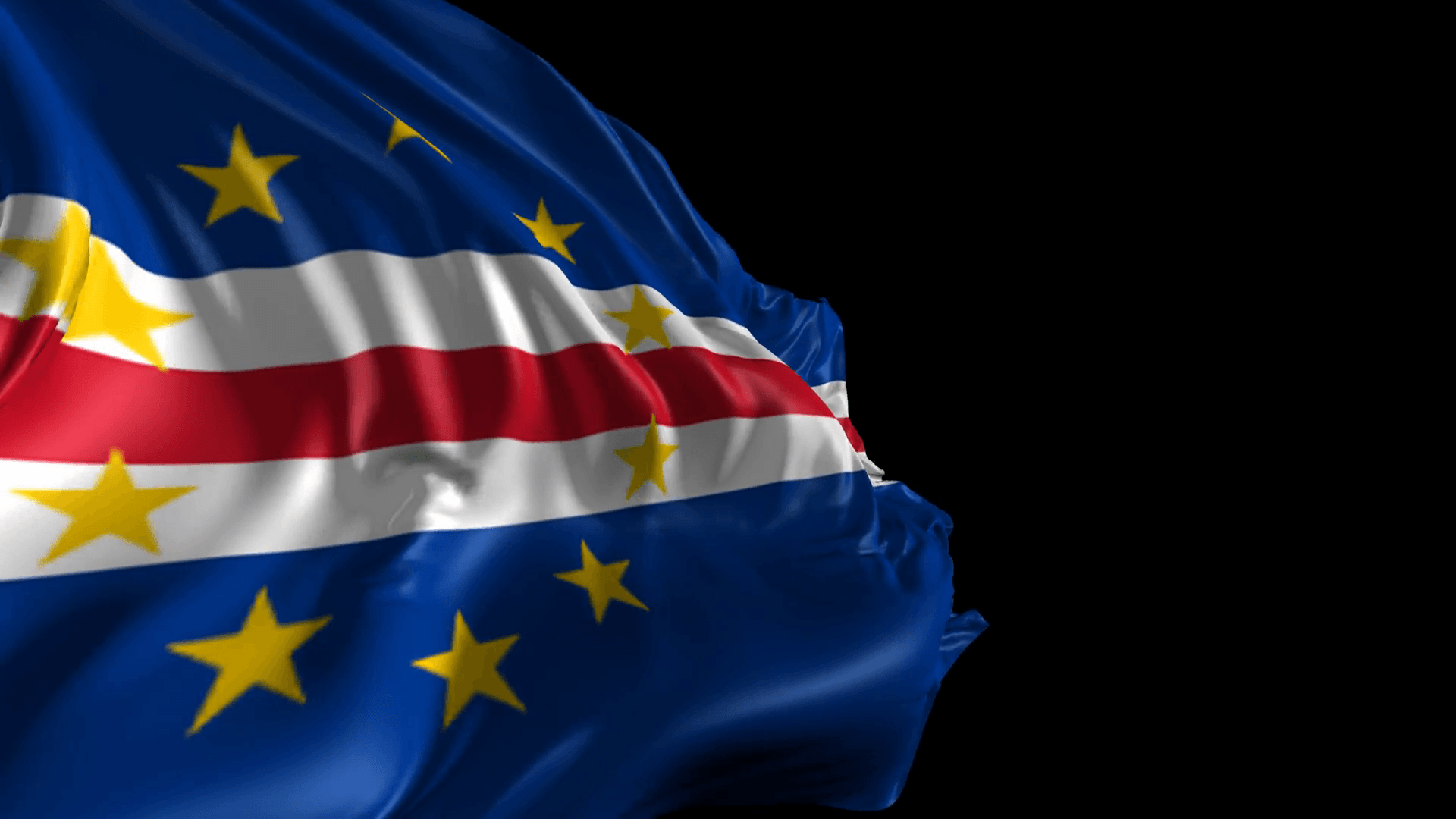 Flag of Cape Verde- Beautiful 3d animation of Flag of Cape Verde ...