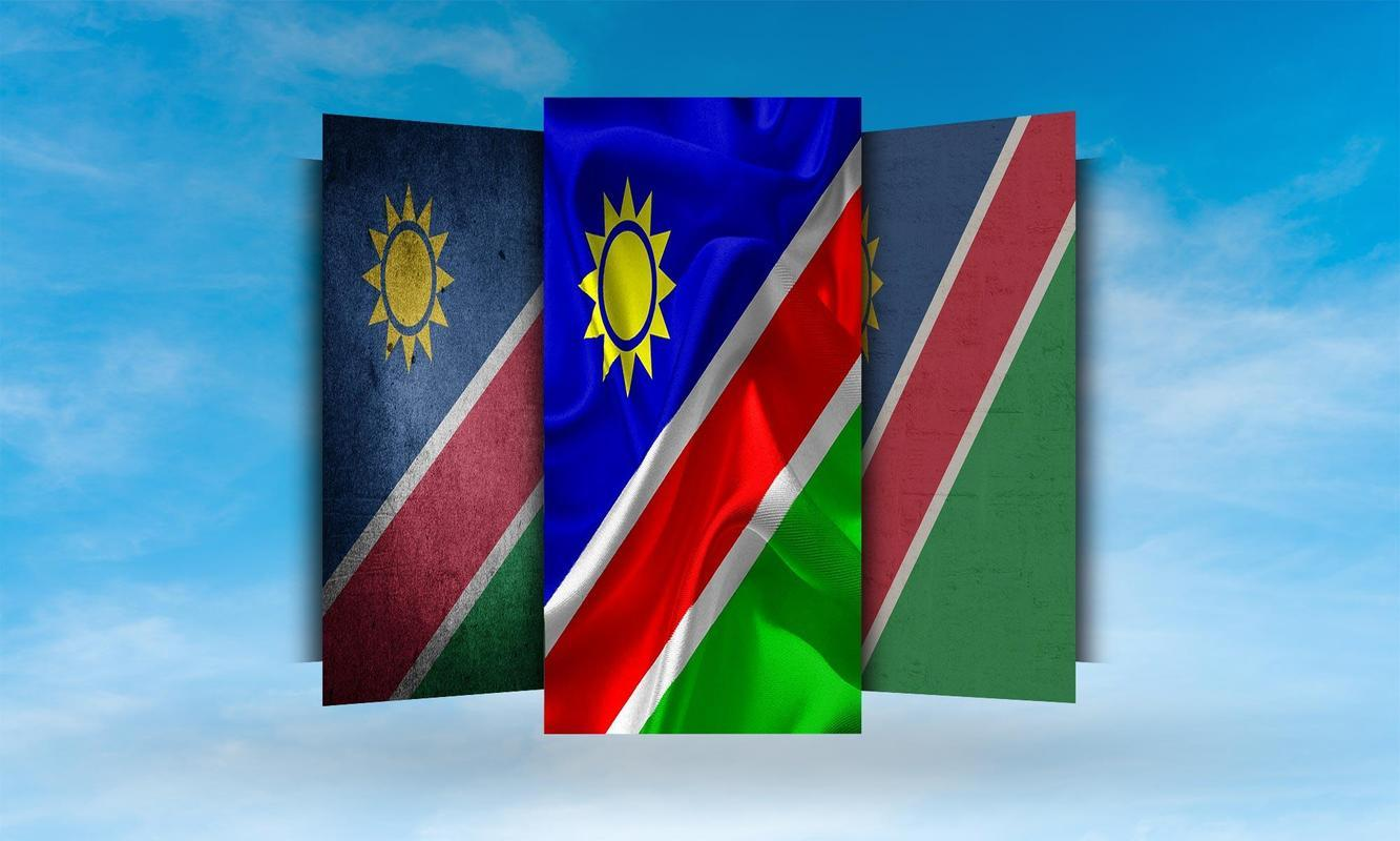 Namibia Flag Wallpapers for Android