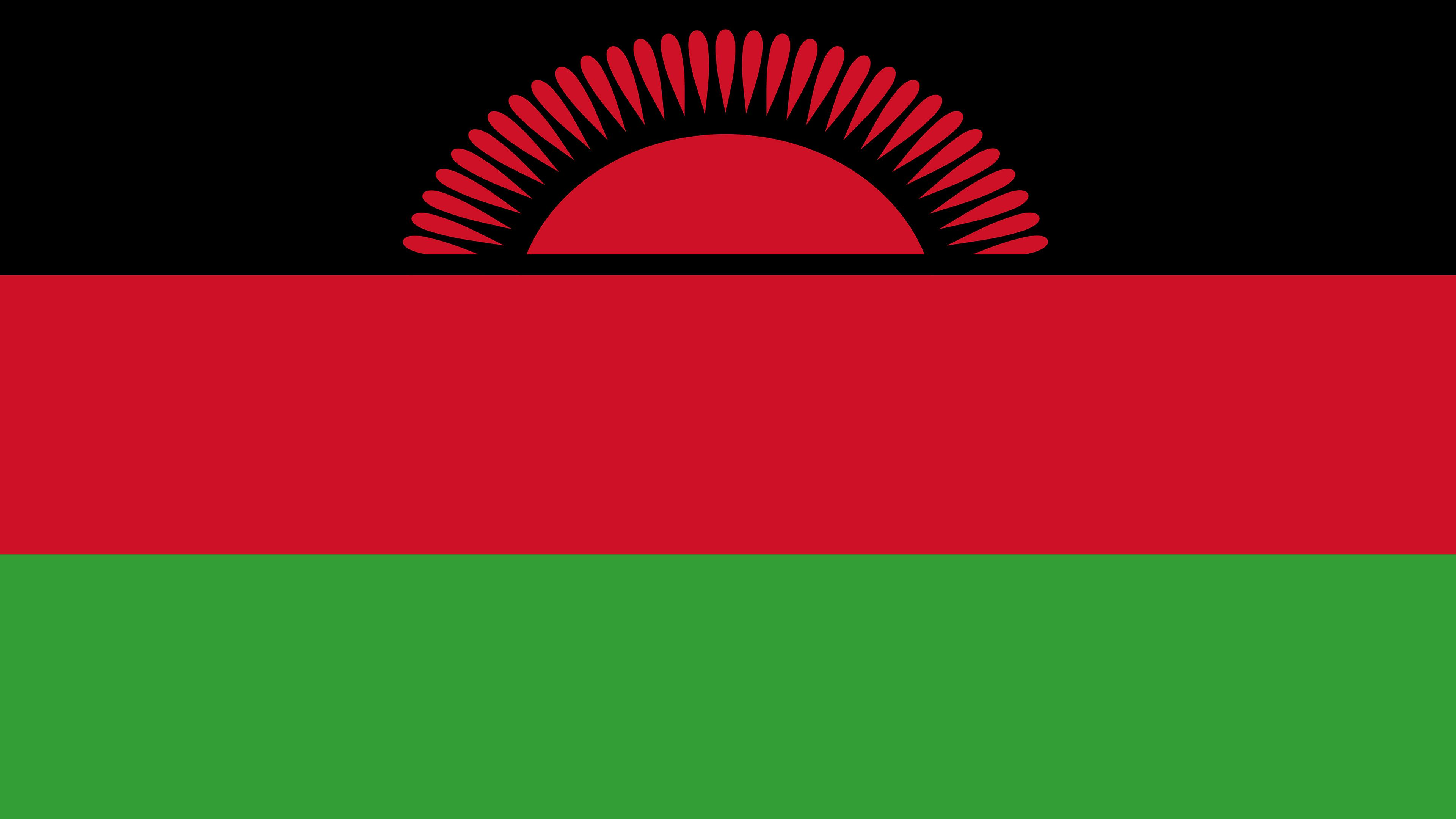 Malawi Flag UHD 4K Wallpapers