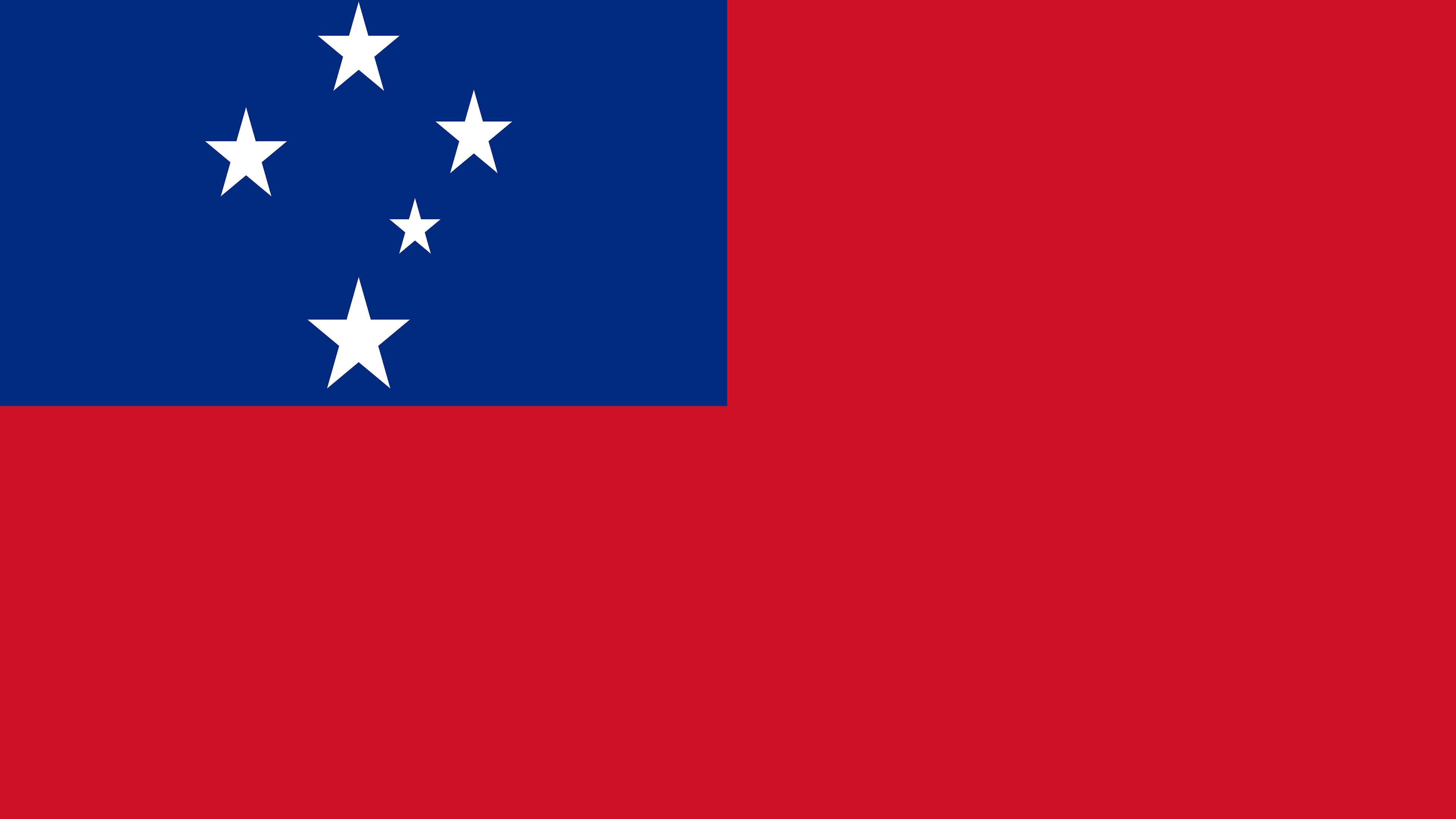 Samoa Flag UHD 4K Wallpapers