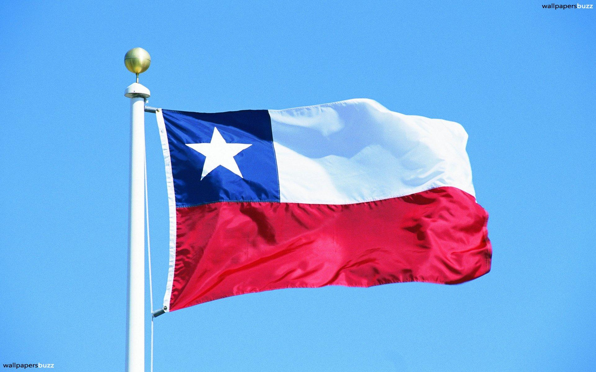 The flag of Chile HD Wallpapers