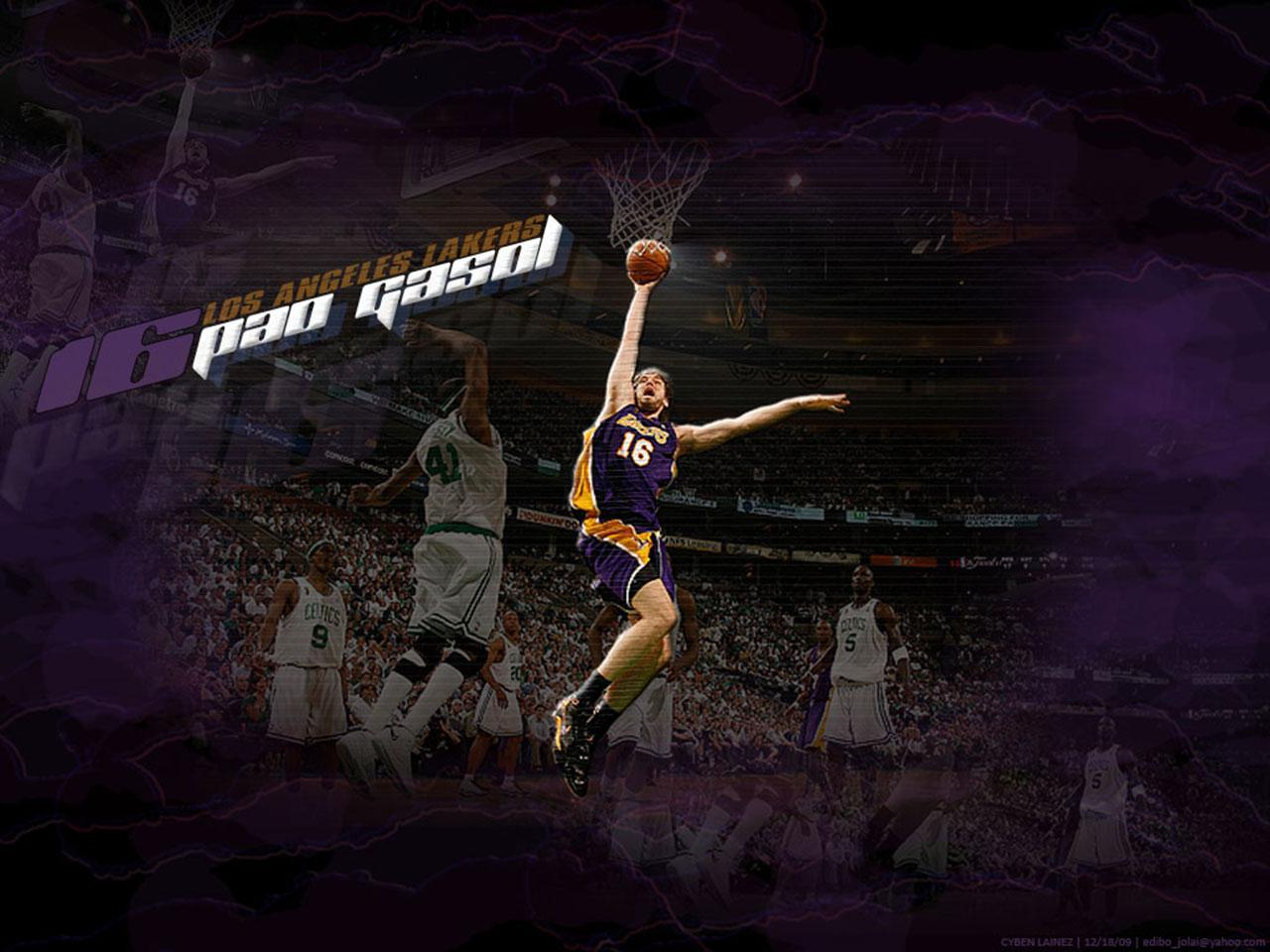 Pau Gasol Dunks Wallpapers