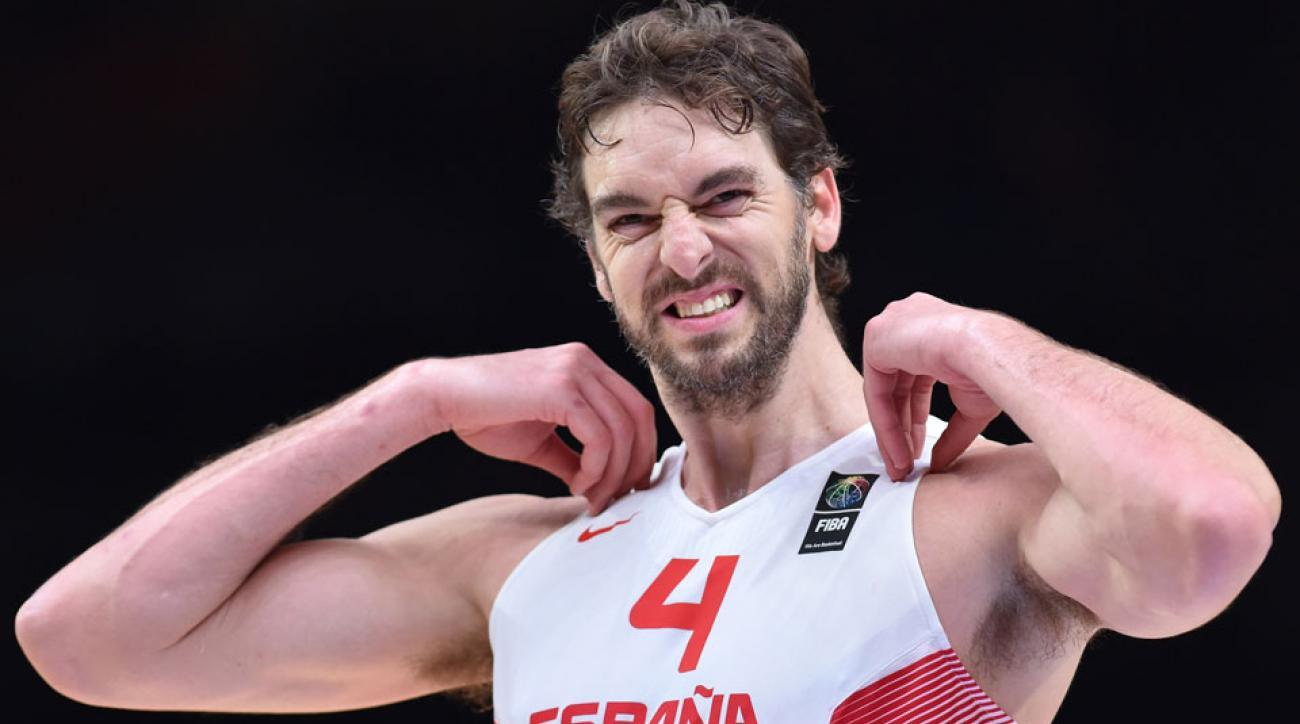 Spain's Pau Gasol among NBA players to star at FIBA EuroBasket