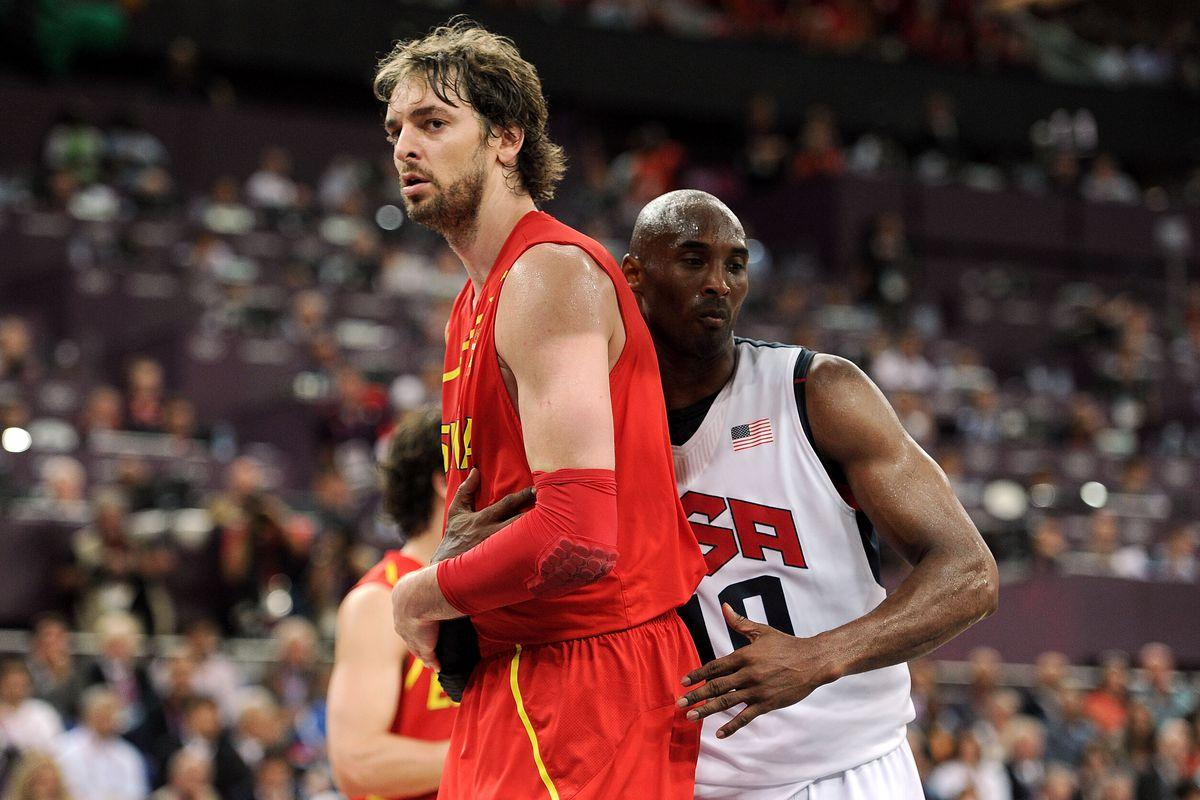 Lakers: Kobe Bryant once motivated Pau Gasol by hanging his Olympic