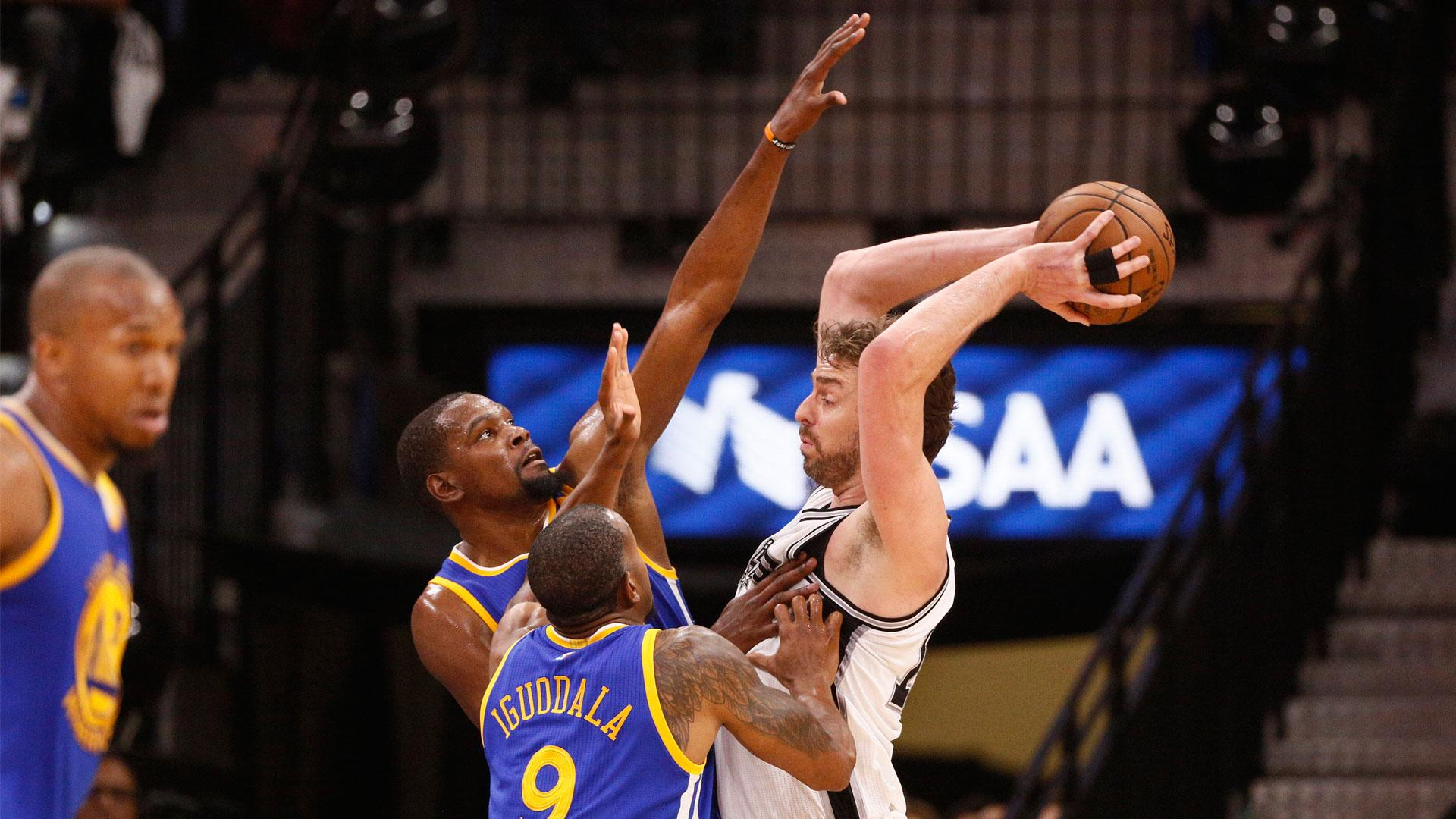 Pau Gasol's lofty praise for Warriors: 'In all my years in the