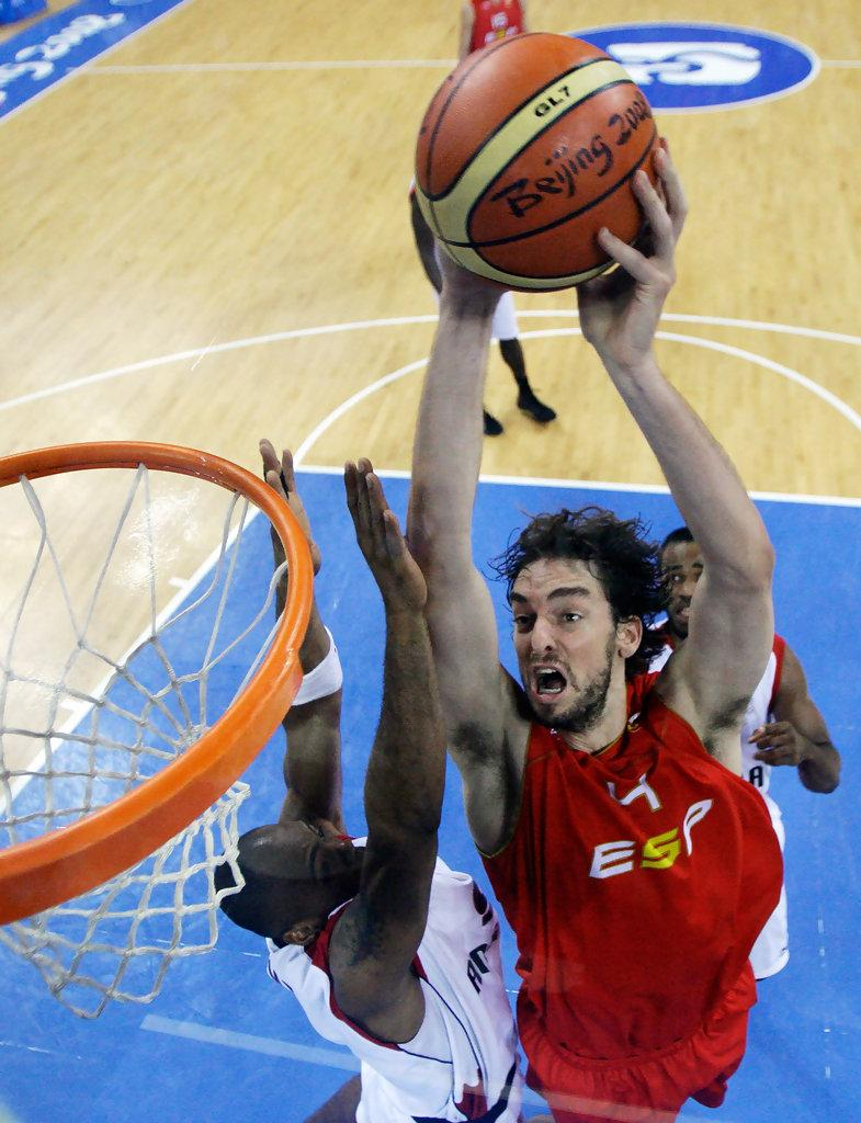 Pau Gasol in Olympics Day 10