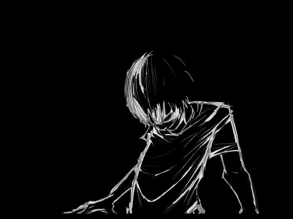 Sad Heart Broken Anime Boy Wallpapers Wallpaper Cave