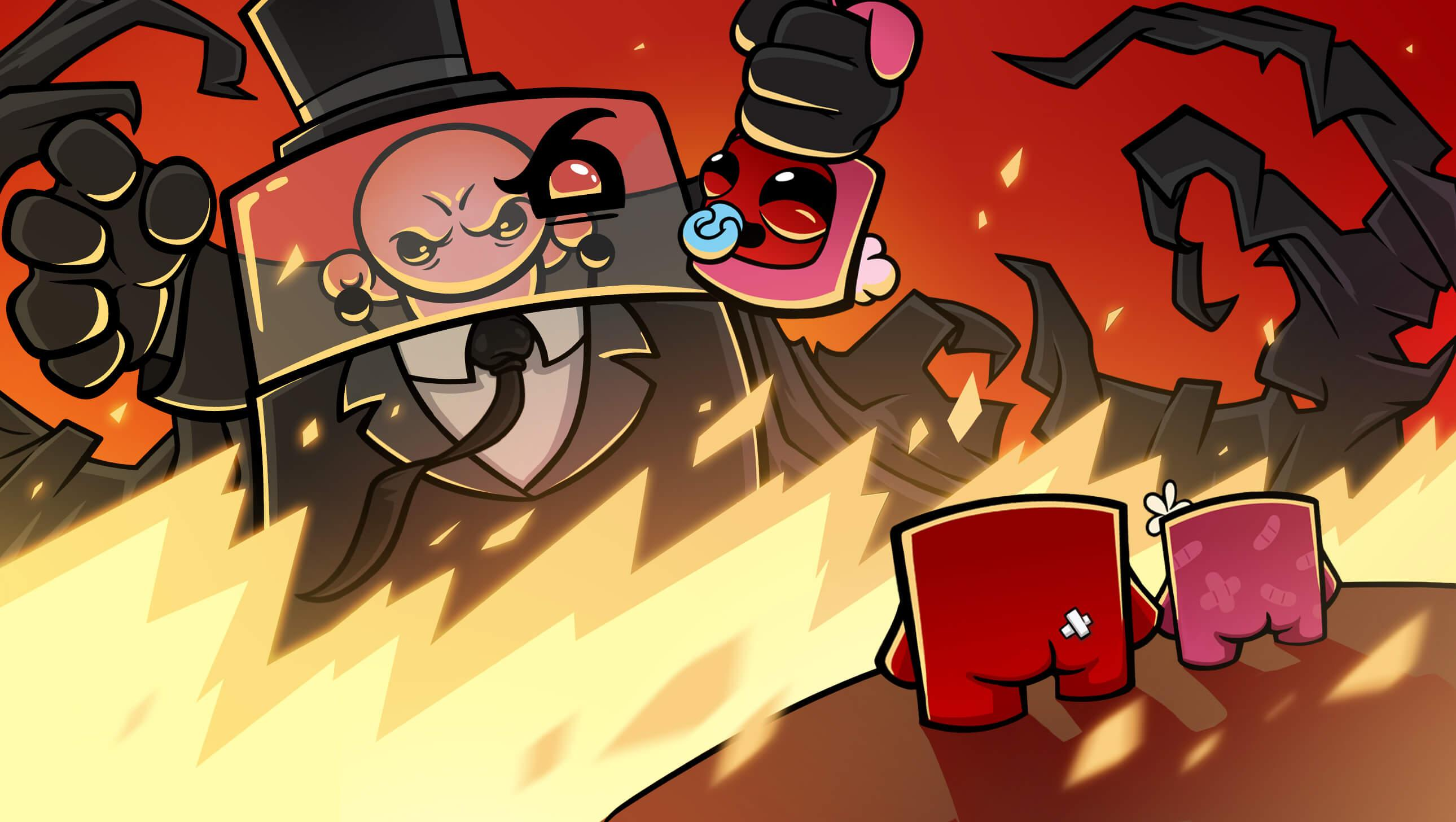 Super Meat Boy Forever Wallpapers Wallpaper Cave