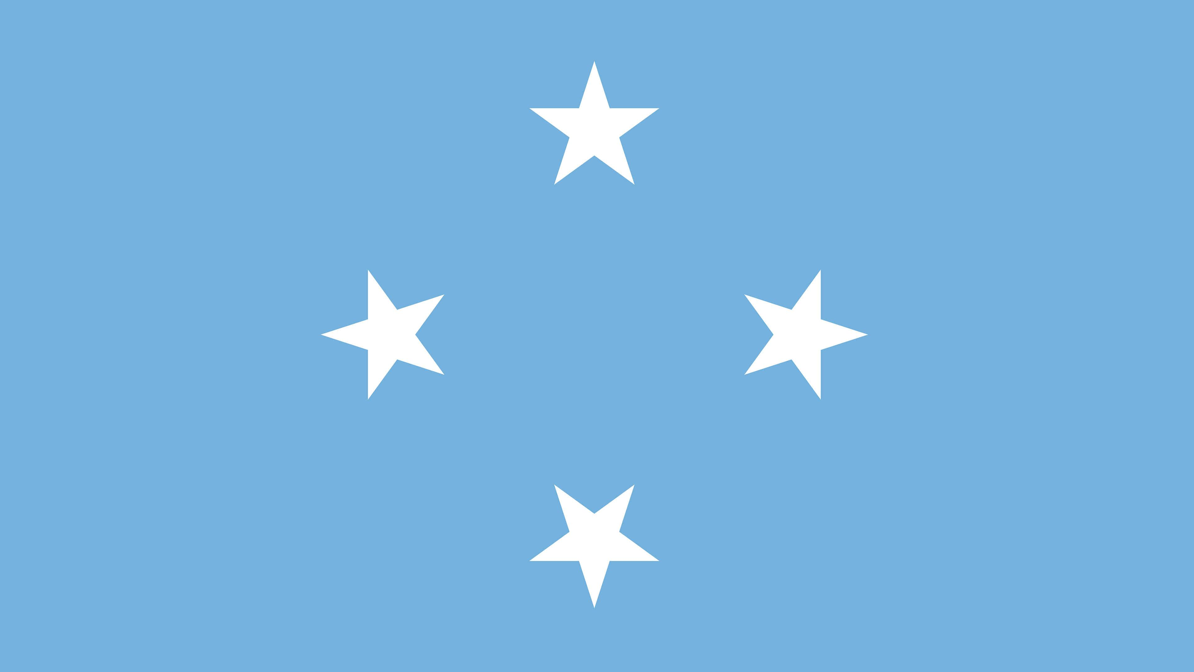 Federated States Of Micronesia Flag UHD 4K Wallpapers