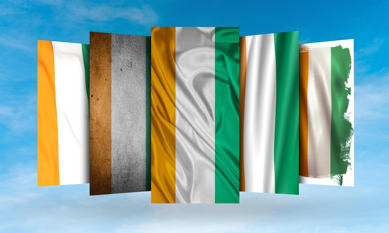 Ivory Coast Flag Wallpapers for Android