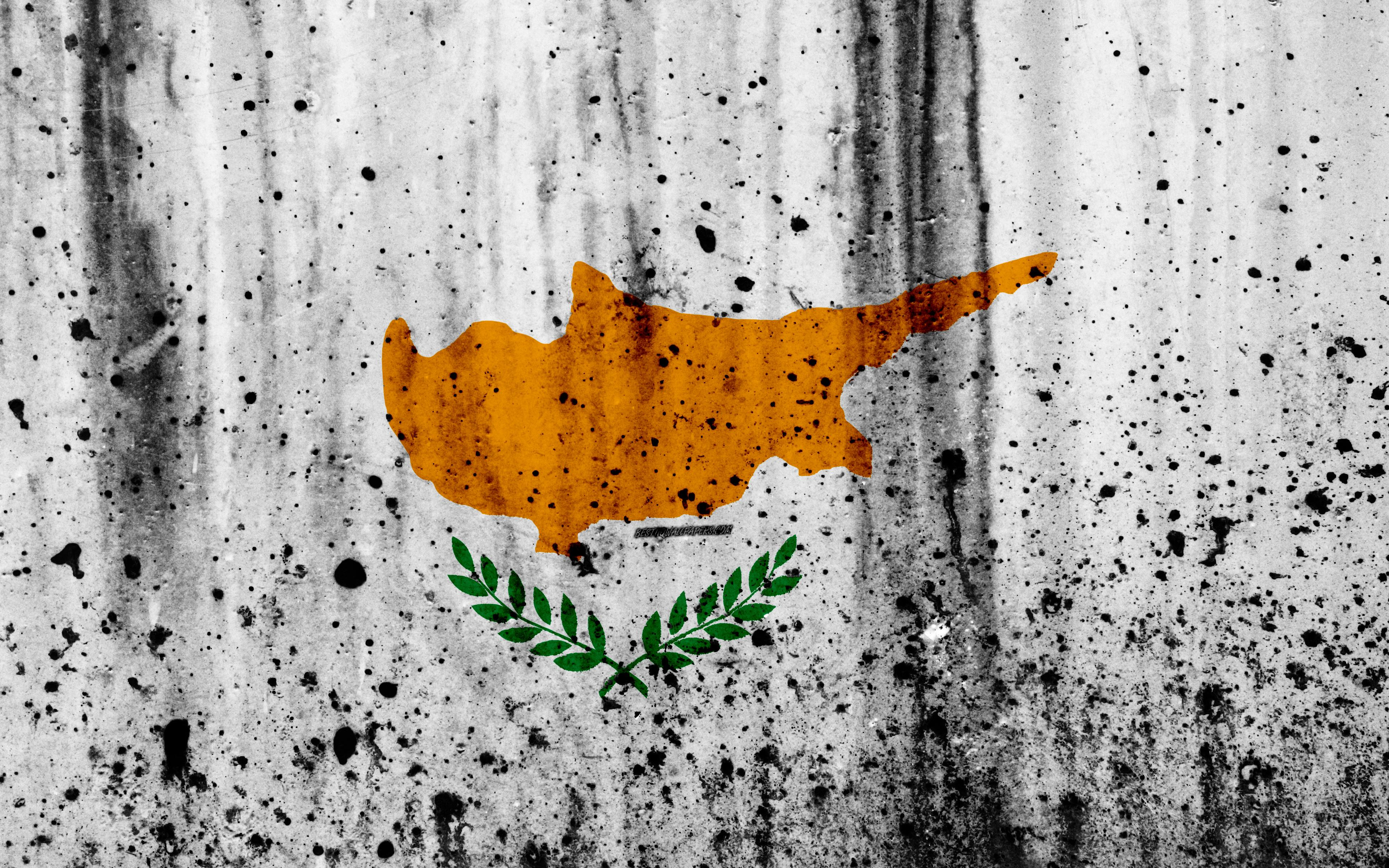 Download wallpapers Cypriot flag, 4k, grunge, flag of Cyprus, Europe ...