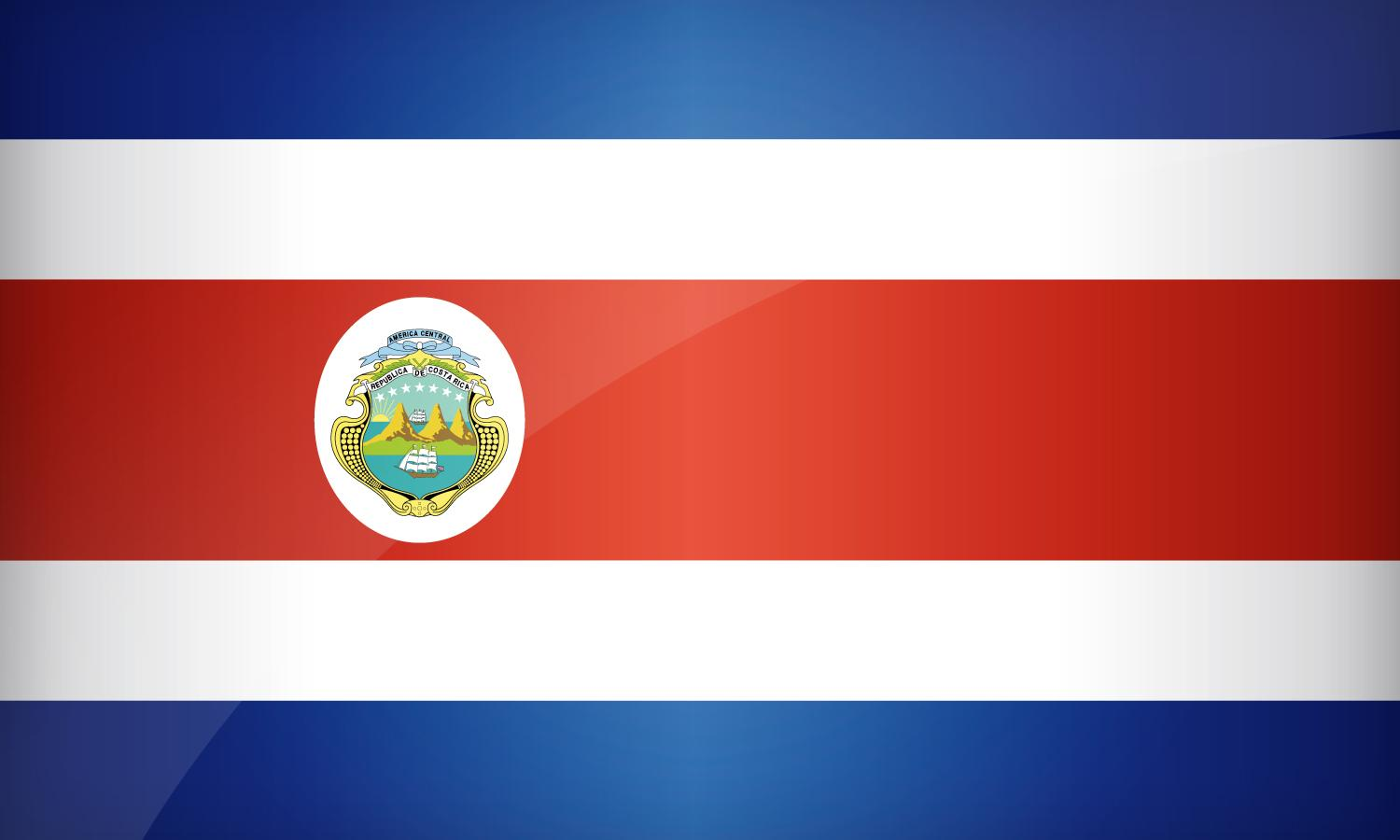 Flag of Costa Rica | Find the best design for Costa Rican Flag
