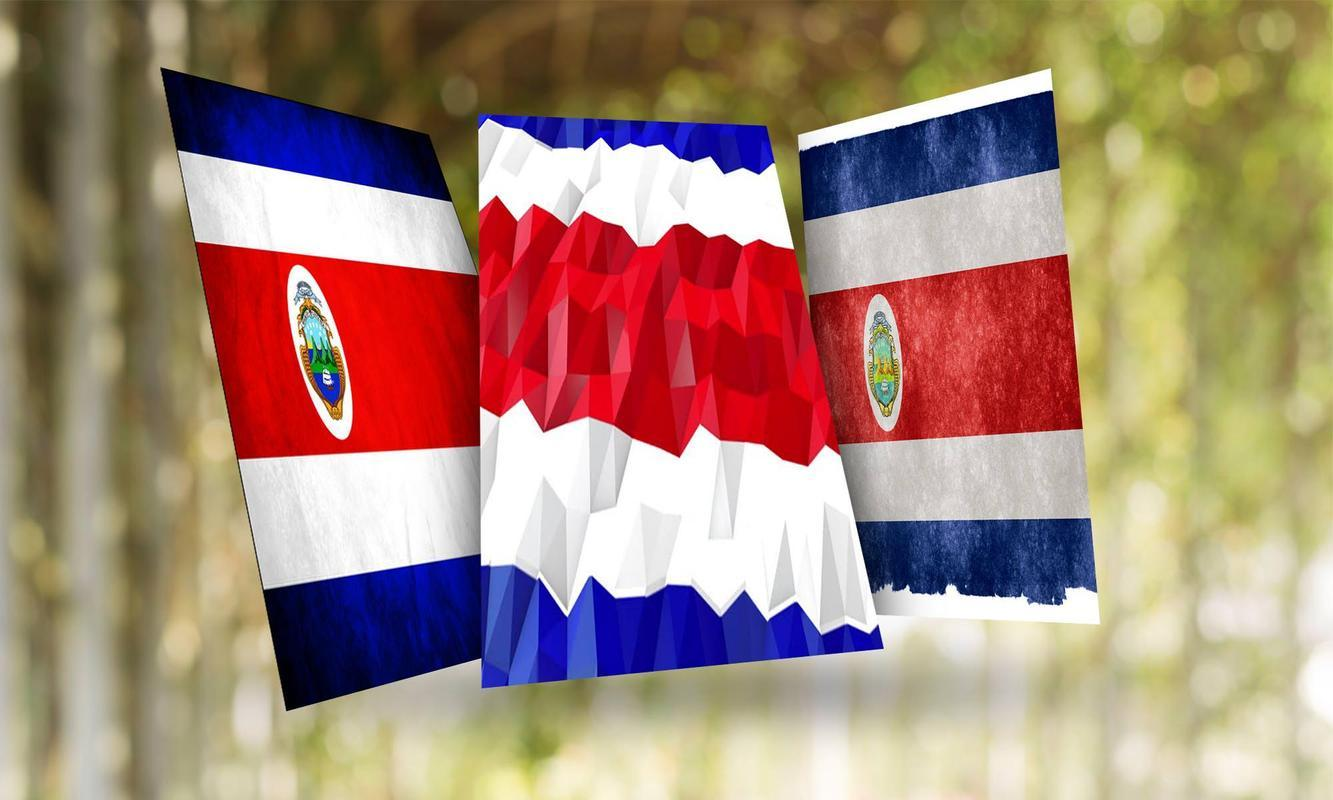 Costa Rica Flag Wallpaper for Android - APK Download