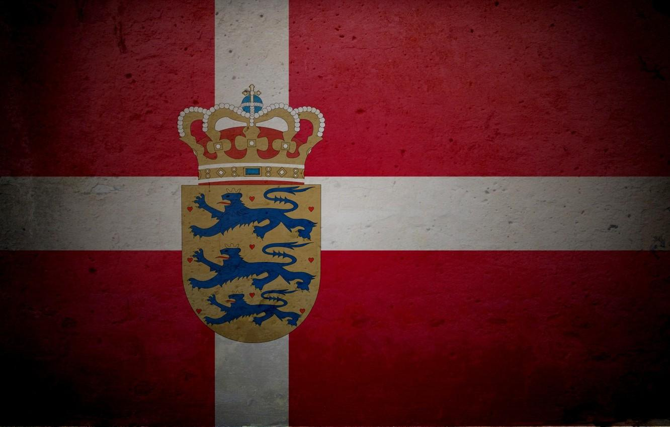 Wallpapers Denmark, flag, coat of arms image for desktop, section