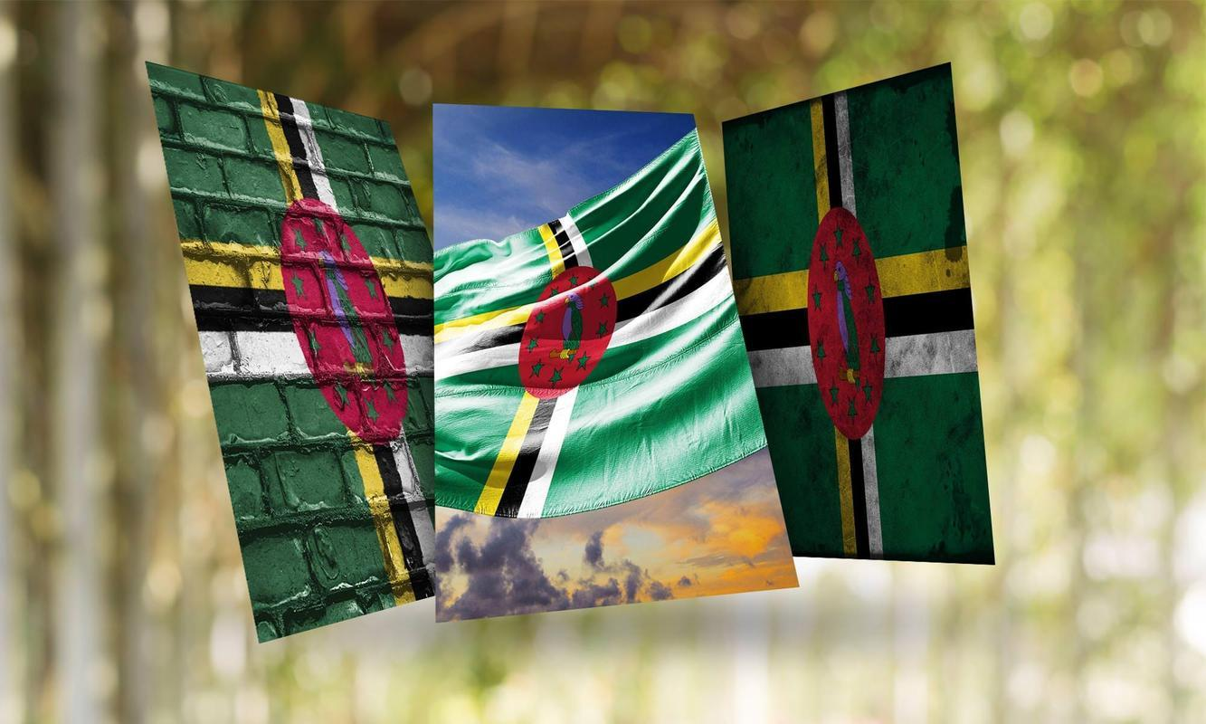 Dominica Flag Wallpaper for Android - APK Download