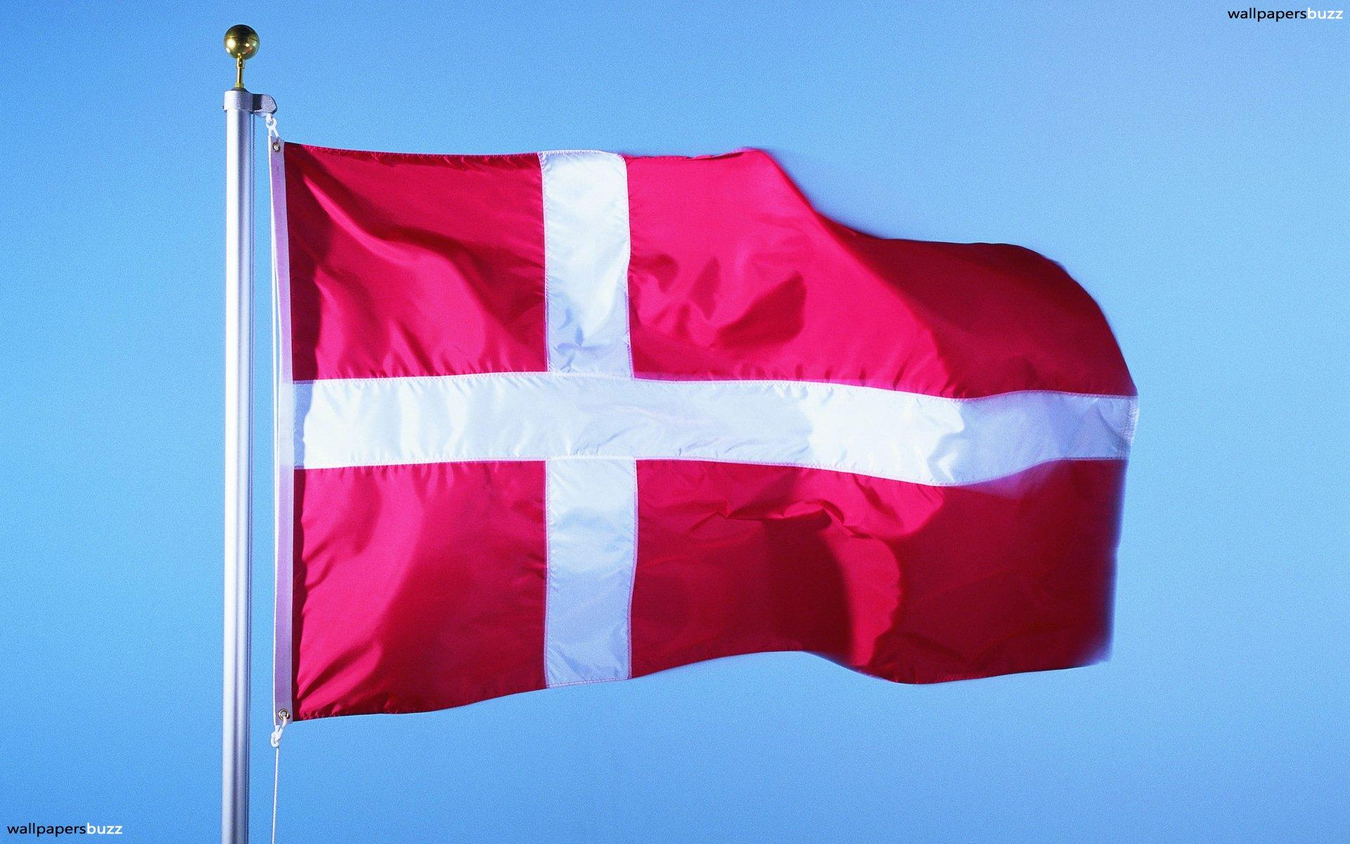The flag of Denmark HD Wallpapers