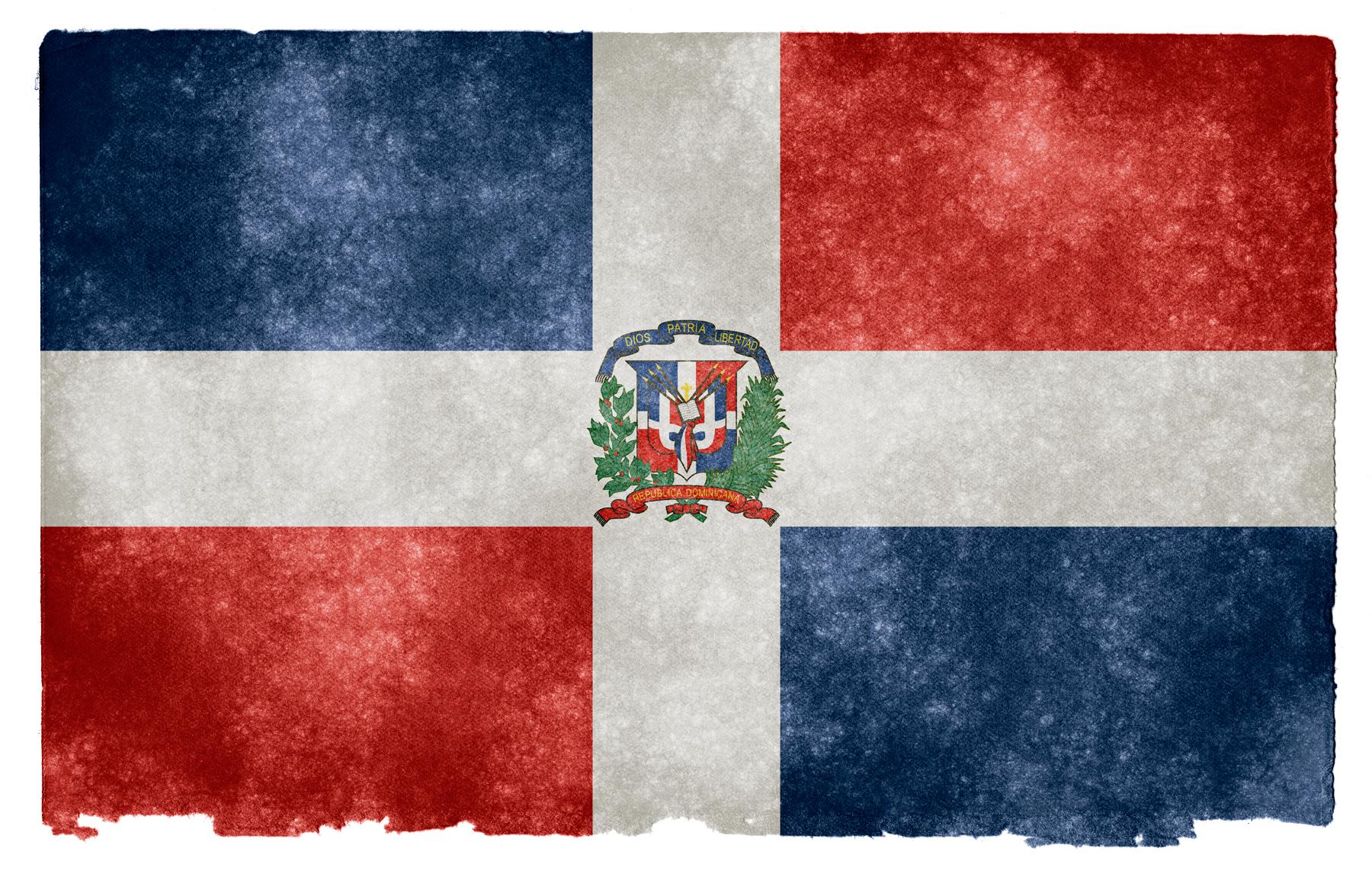 Dominican Republic Grunge Flag HD Wallpaper   Wide Screen Wallpaper .