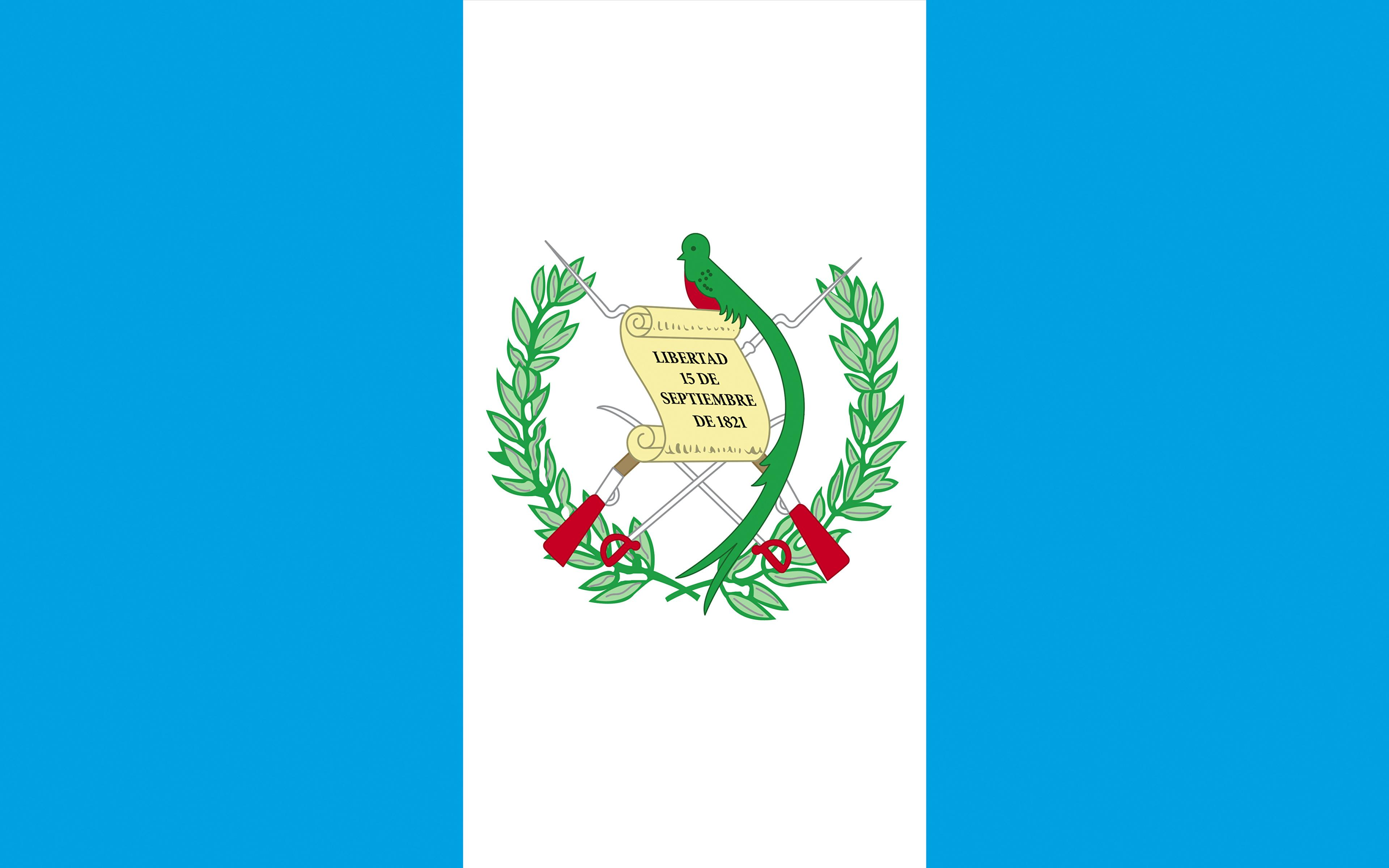 Image Guatemala Flag Stripes 3840x2400