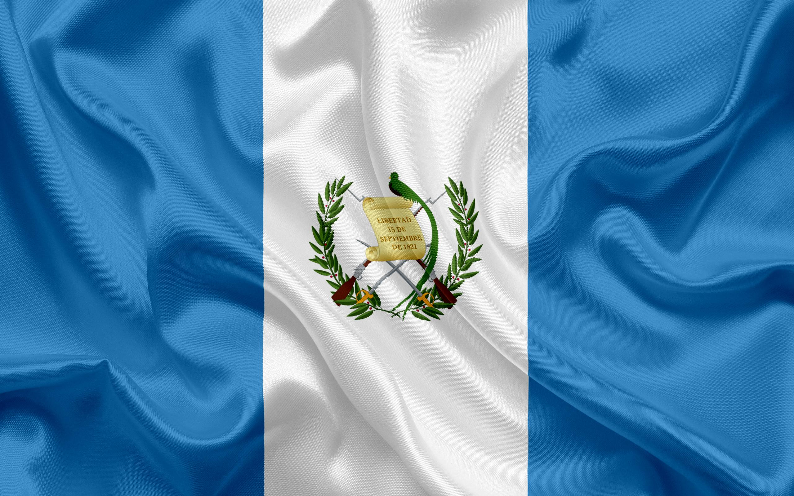 Download wallpapers Guatemalan flag, Central America, Guatemala