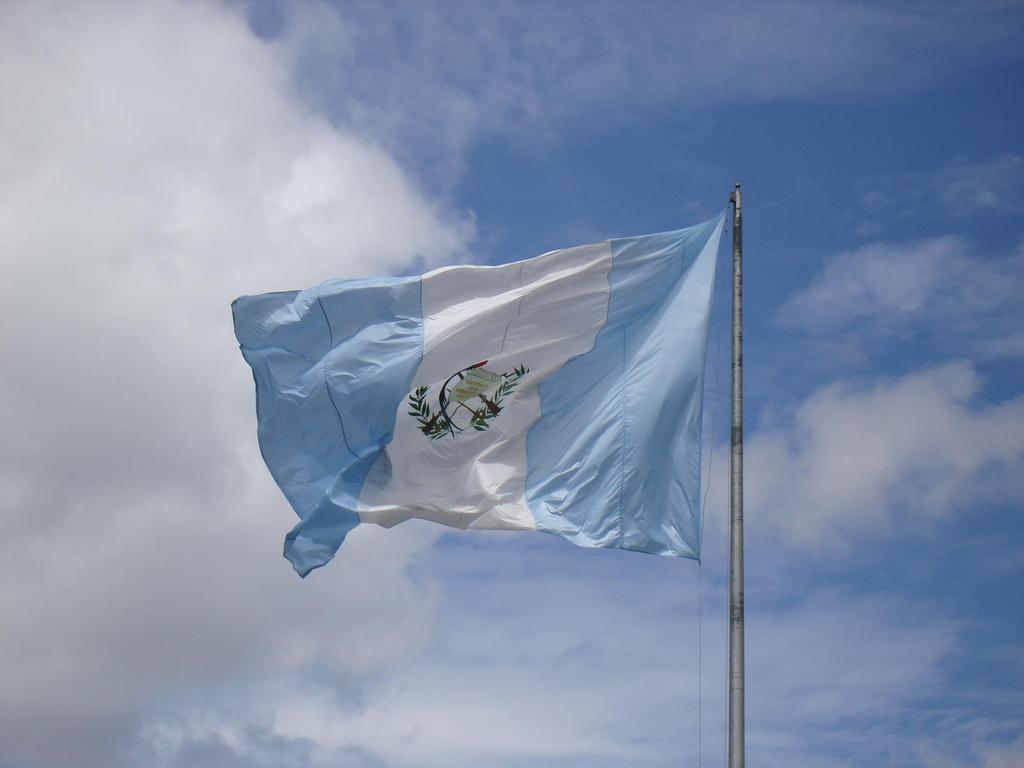1024x768px Guatemala Flag Wallpapers